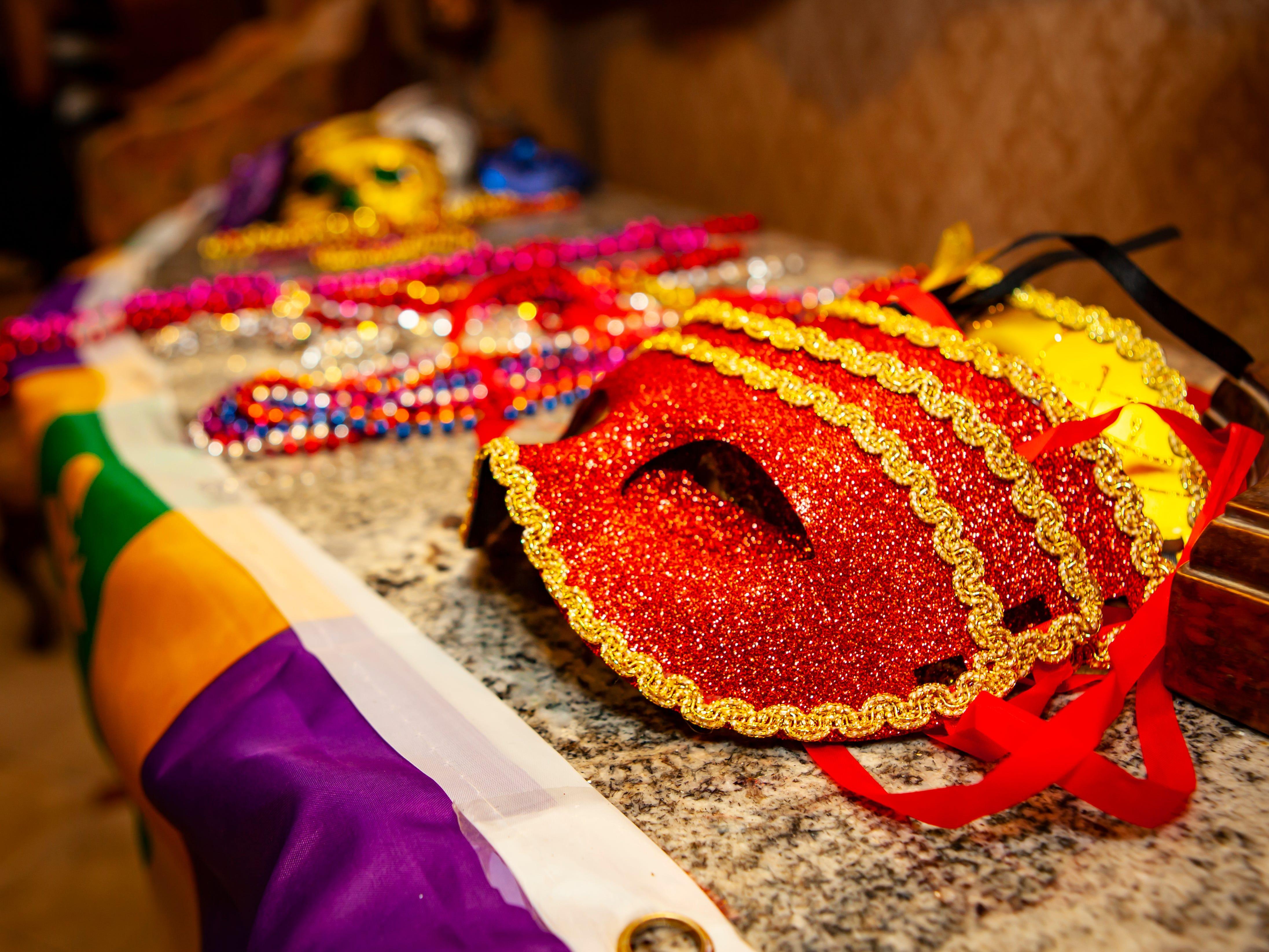Omega Psi Phi held its annual Mardi Gras Party Saturday, Feb. 9 at Stones River Country Club in Murfreesboro.