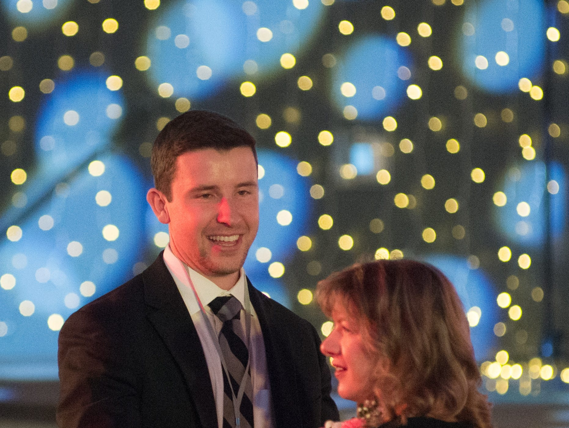 Attendees of the Night to Shine event dance the evening away at NorthField Church in Gallatin on Friday, Feb, 8. The Night to Shine is a  prom night experience presented by Tim Tebow Foundation to celebrate God's love for people with special needs.