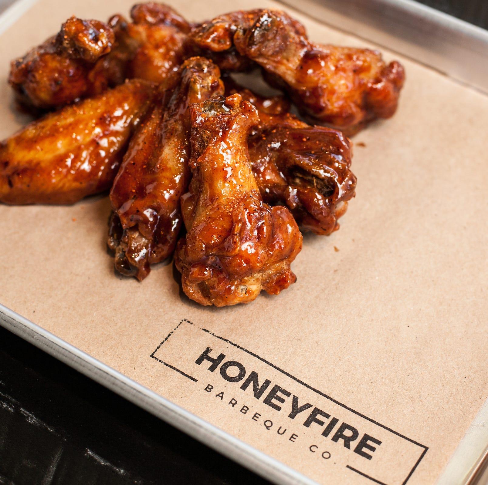 HoneyFire wings