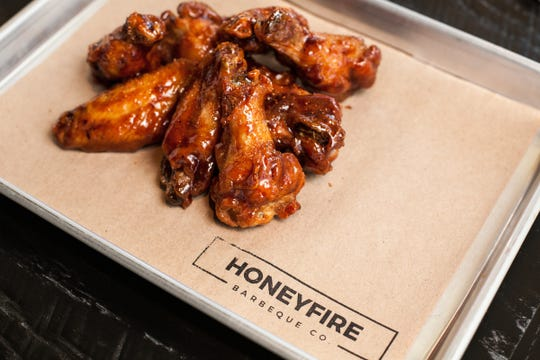 HoneyFire wings