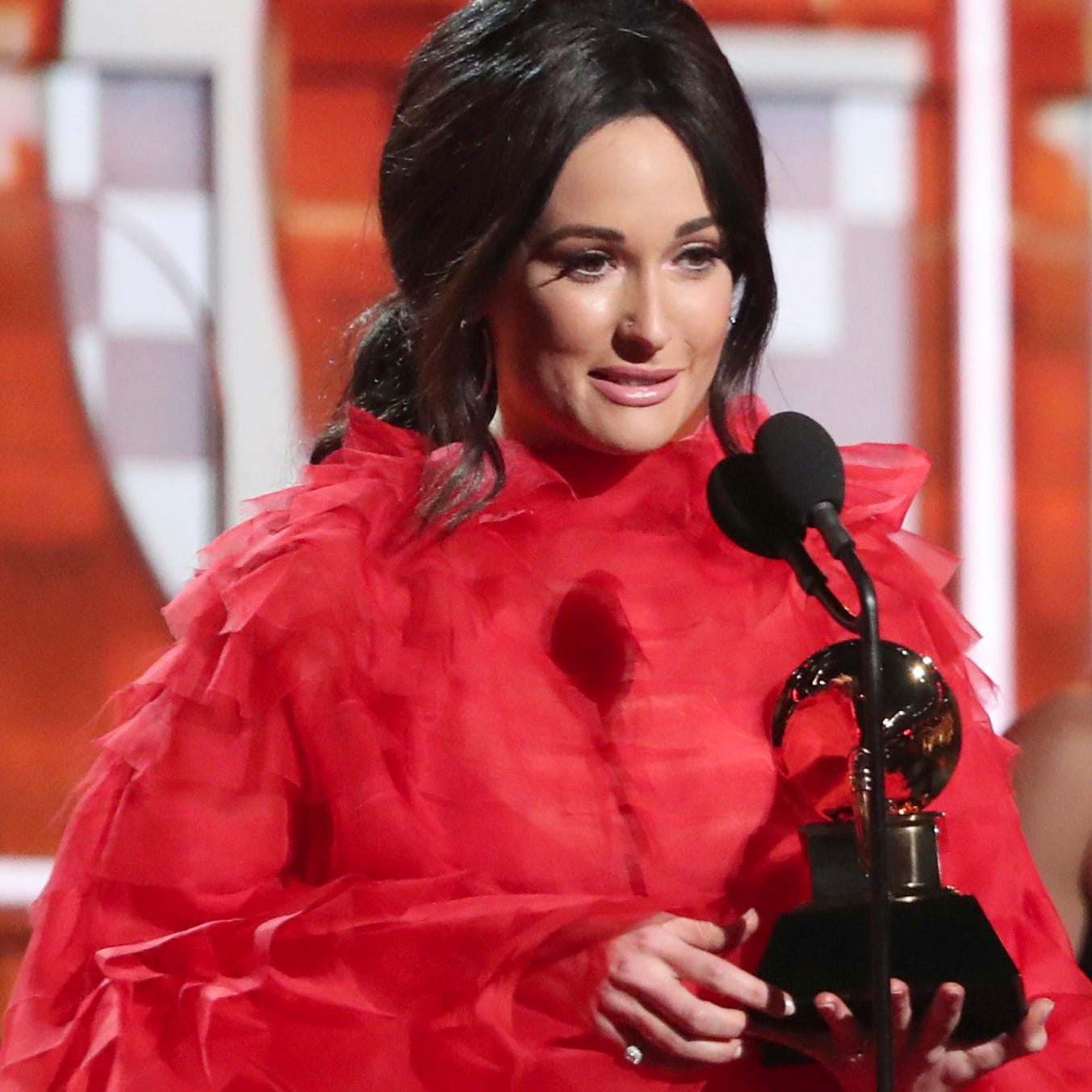 Kacey Musgraves asks fans for best Grammy memes of her surprised reaction to winning AOTY