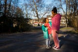Chelsea Rucker and her two daughters spent 90 days living in a shelter while Rucker underwent an intensive training program and is now works at Google.