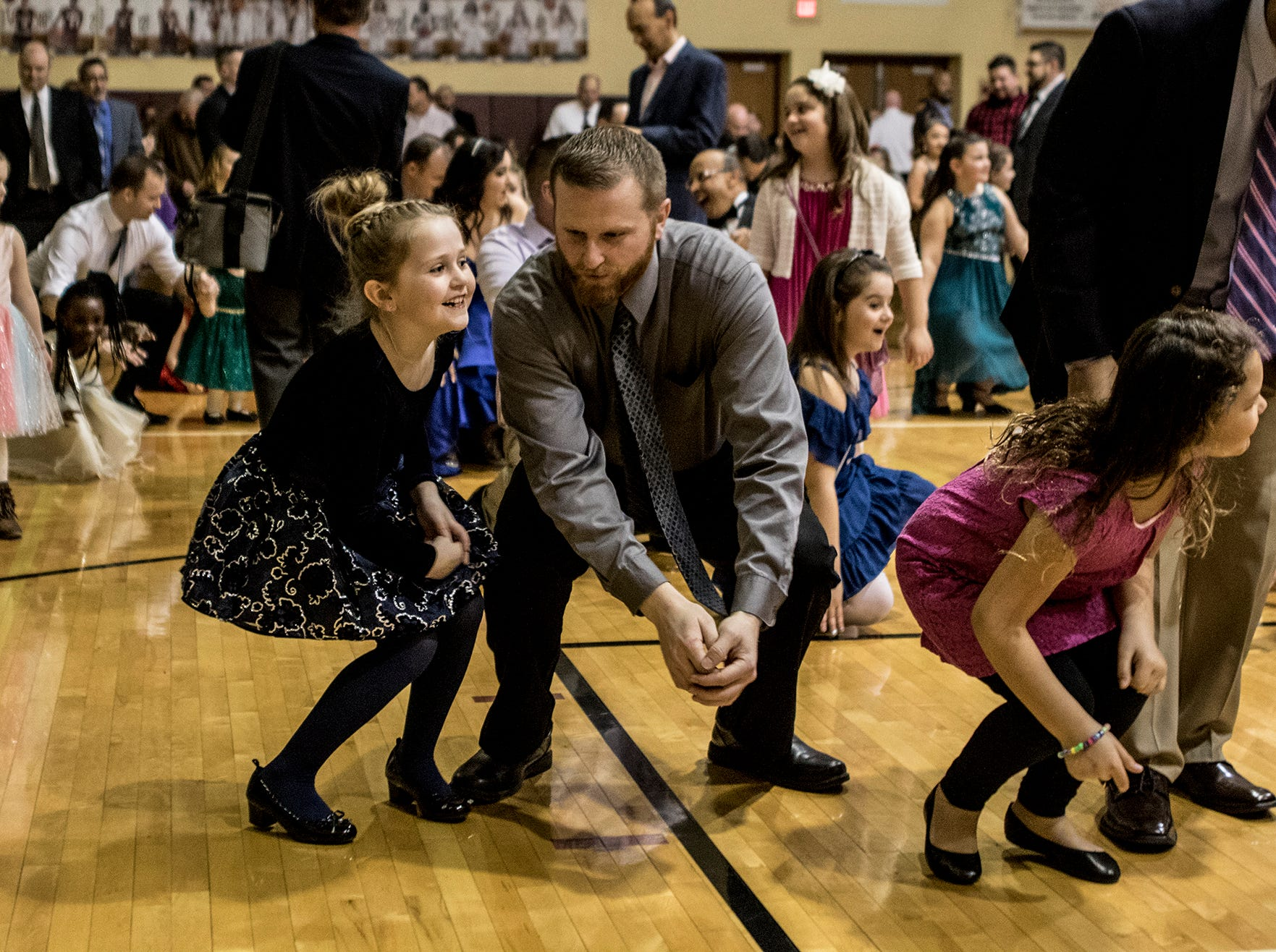 "The Licking County Family YMCA Western Branch hosted the ""Wish, Believe"" Daddy/Daughter dance Saturday night at Licking Heights High School. The event, which is a fundraiser for the YMCA, brought in more than 800 people."