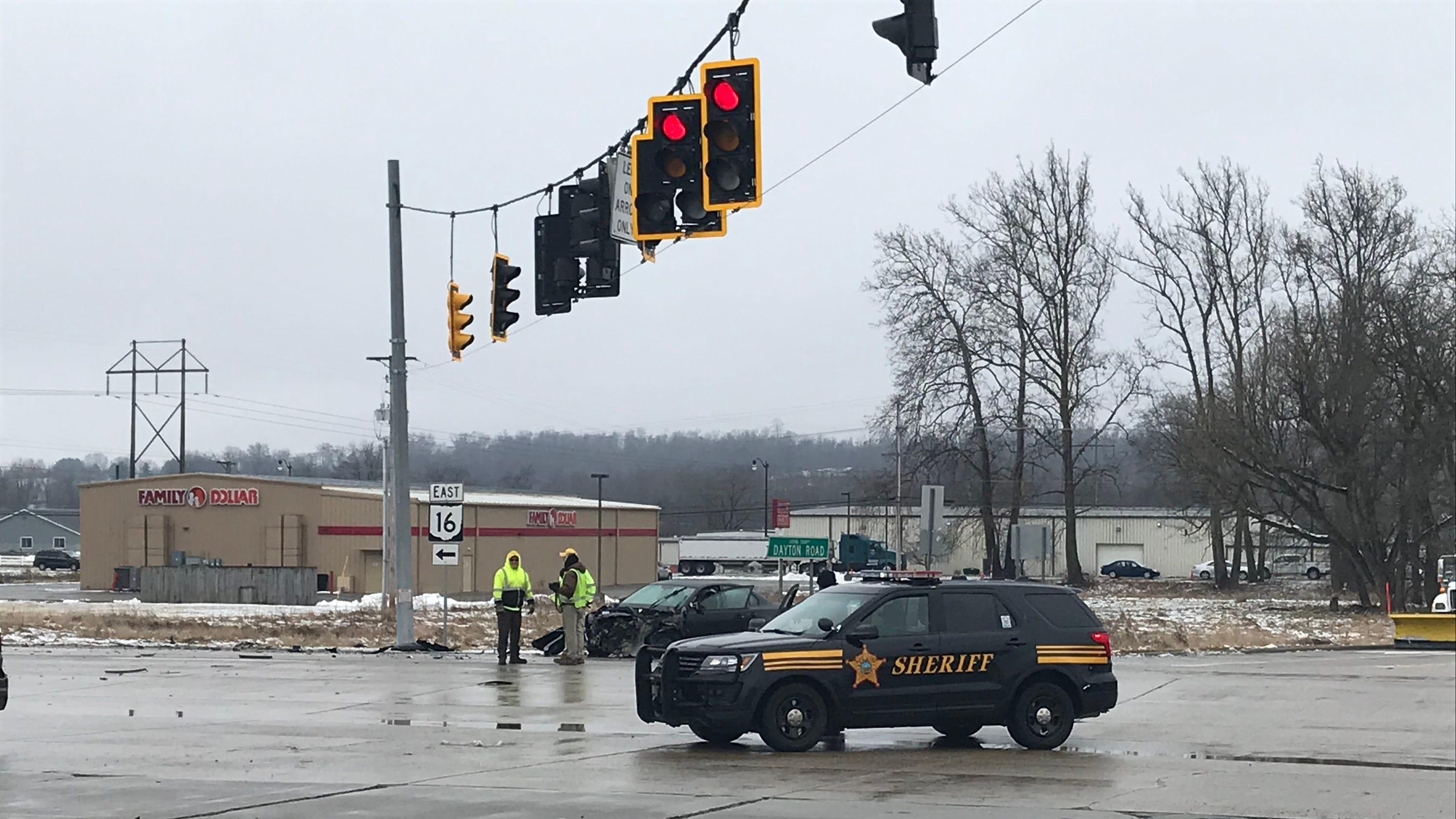 OH 16 reopened at Dayton Road after semi crash