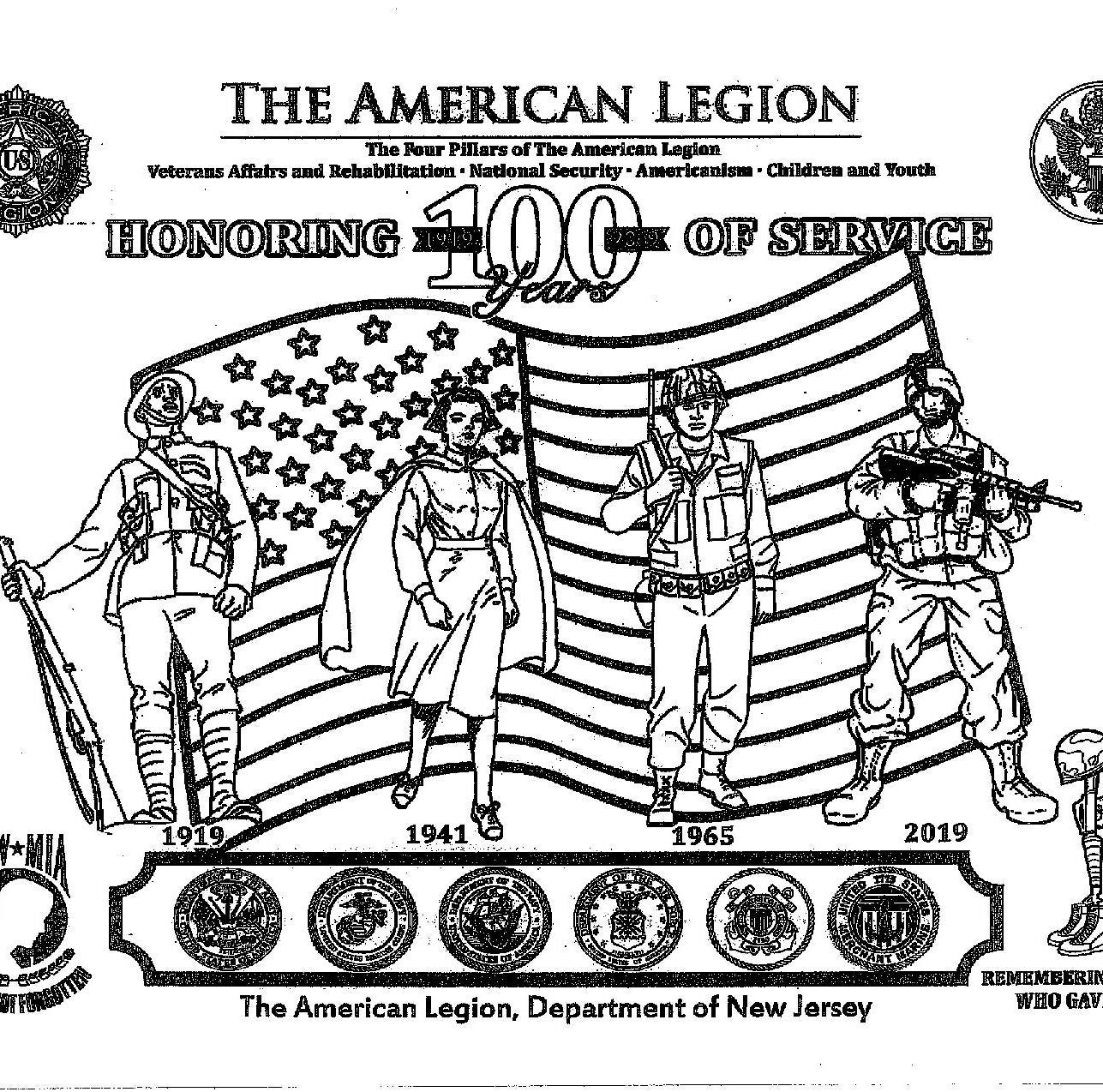 Glen Rock schools bow out of American Legion coloring contest over 'inappropriate' image