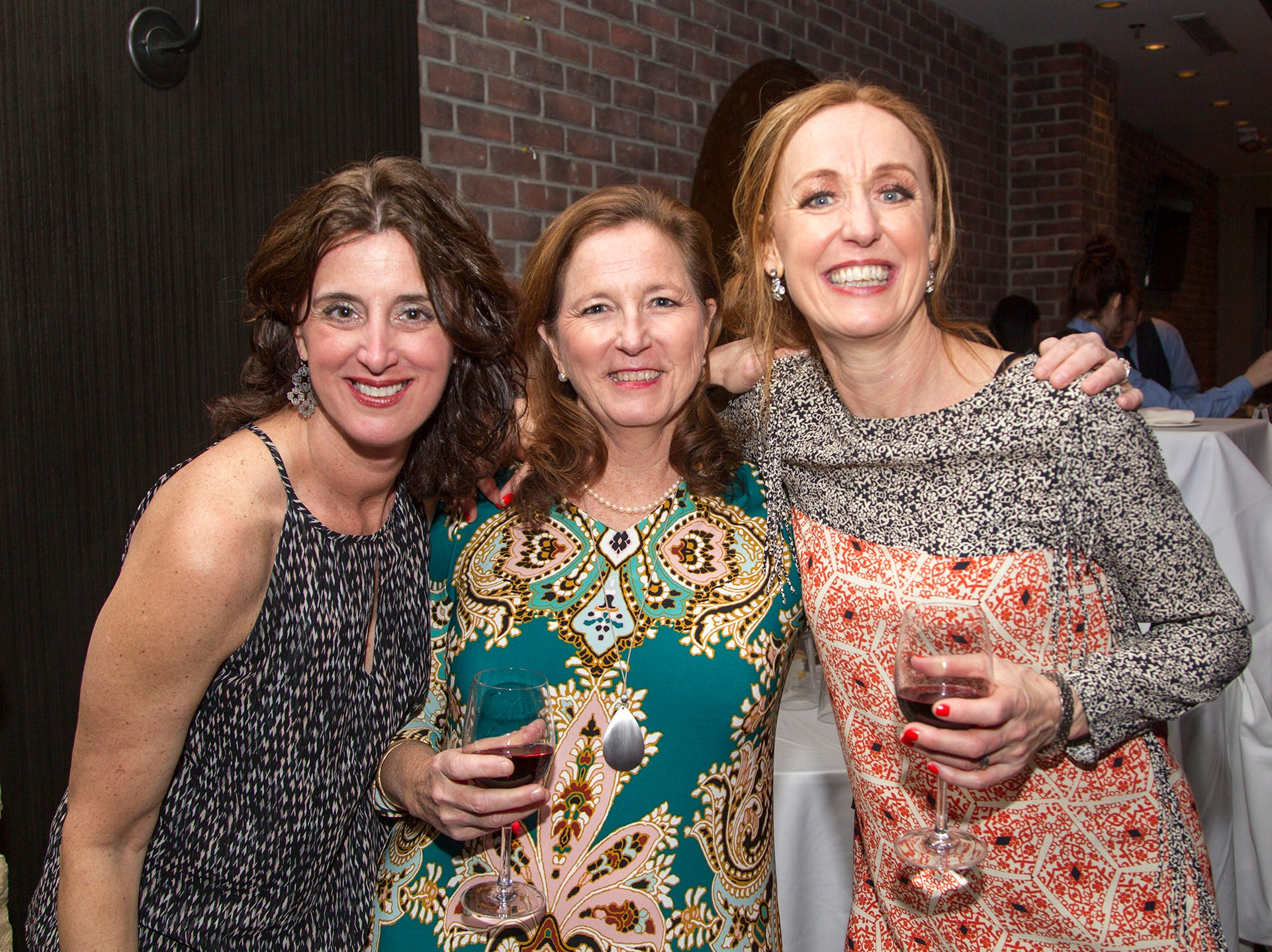 Janine, Deanne, Carrie. Ridgewood High School 2019 Jamboree after party at Park West Loft in Ridgewood.  2/9/2019