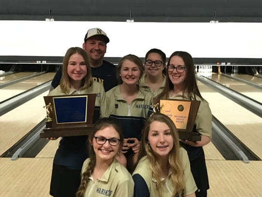 For the second year in a row, Toms River North won the Group 4 and Tournament of Champions trophies at the NJSIAA girls bowling team finals at Bowlero North Brunswick. The Mariners defeated Freehold Township, 3-0, in the TOC final on Monday, Feb. 11, 2019.