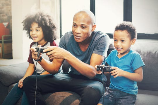 Miller said game time can be family time if you choose a nonviolent game that everyone can play together.