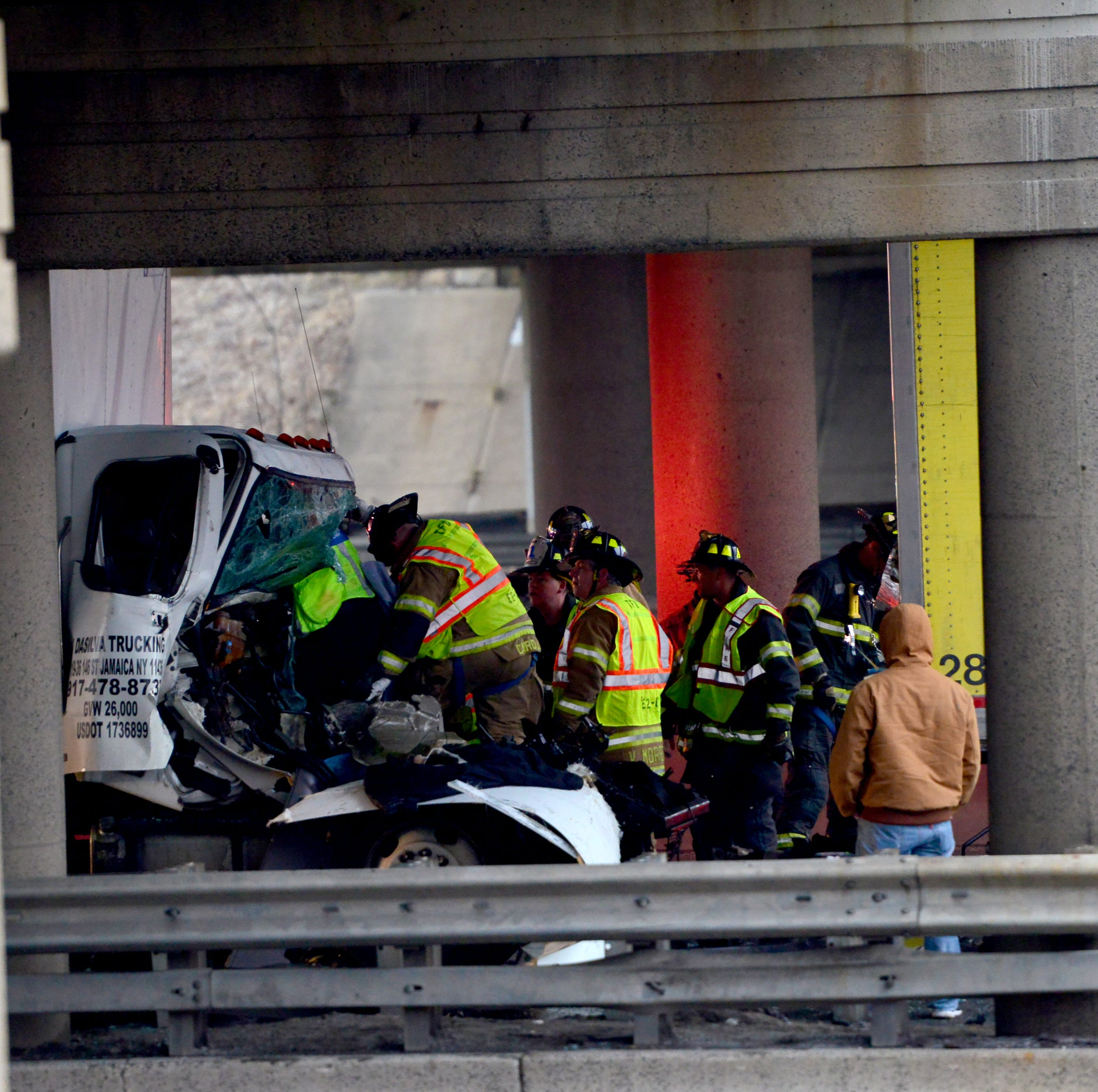 Jersey City truck driver killed in collision between box truck and tractor-trailer in Teaneck