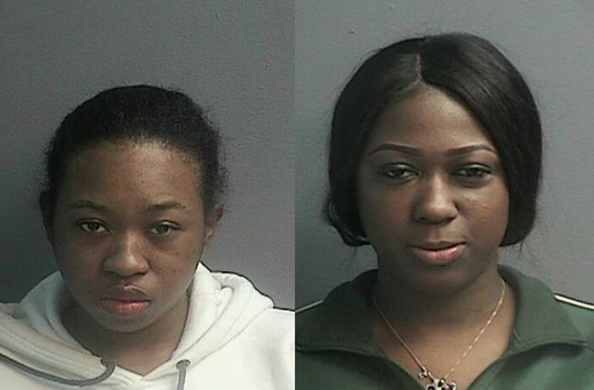 Ceyanna King, 22; and Moesha Latoya Watson, 22, both of Brooklyn.