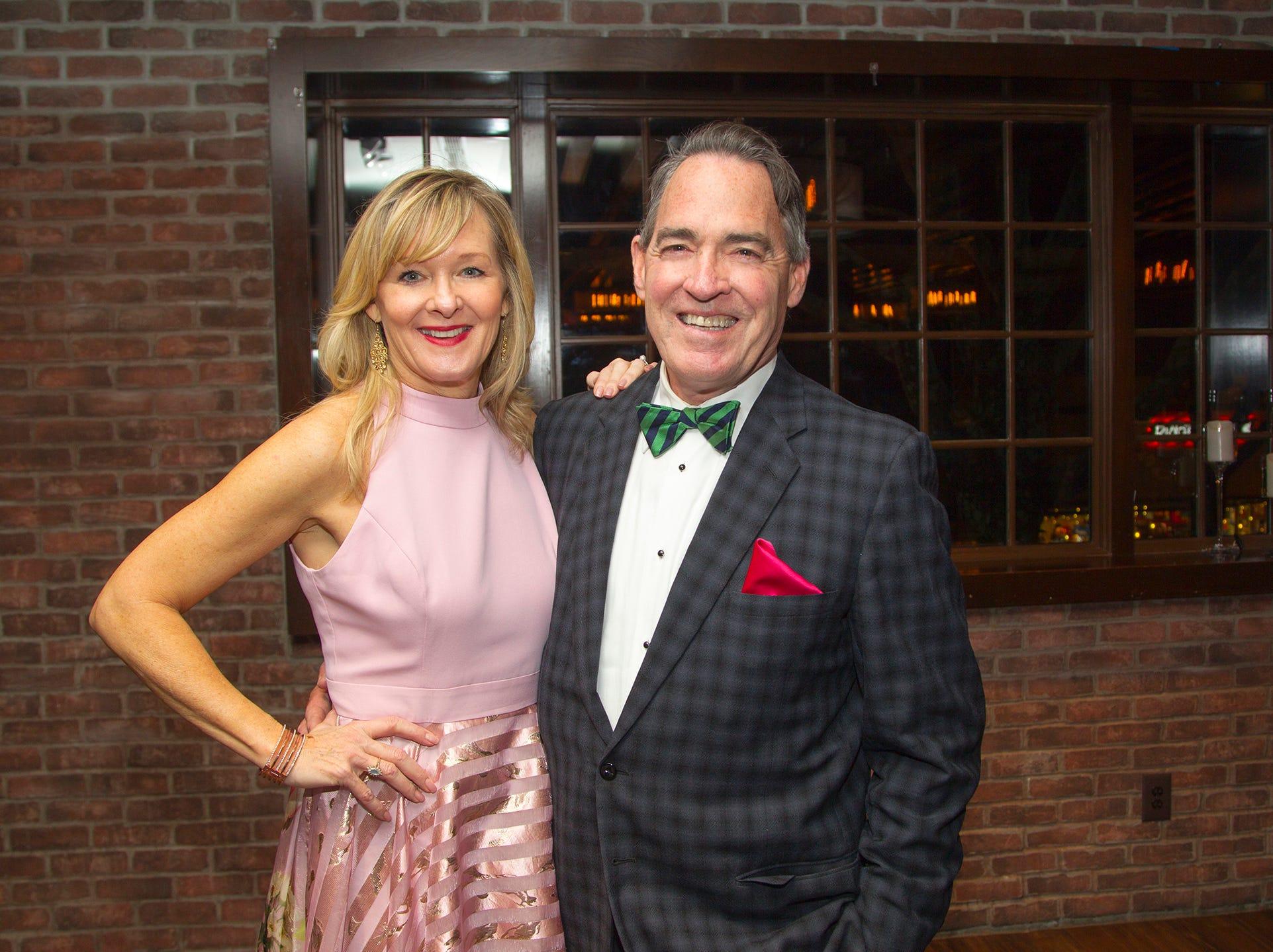 Rosie and Sean McCooe. Ridgewood High School 2019 Jamboree after party at Park West Loft in Ridgewood.  2/9/2019