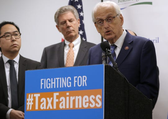 Congressman Bill Pascrell Jr. says the tax cut plan that President Trump introduced in 2017 is actually making millions pay more taxes.  Monday, February 11, 2019