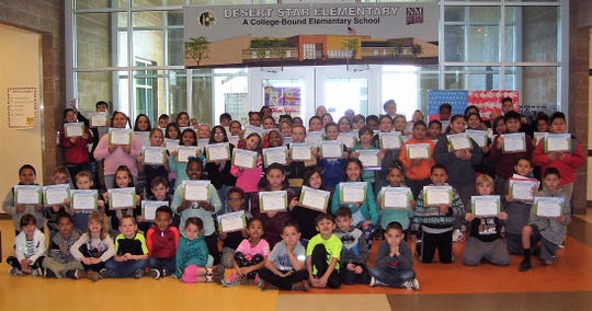 Desert Star Elementary had 92 students qualify for the Alamogordo Kiwanis Club BUG Honor Roll in January.