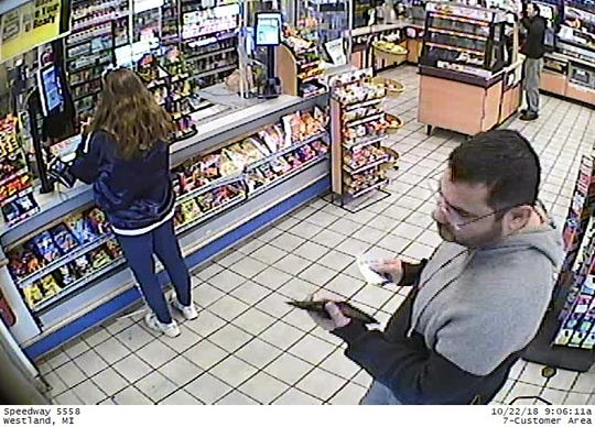 Westland police are seeking this man in a credit fraud case from last fall.