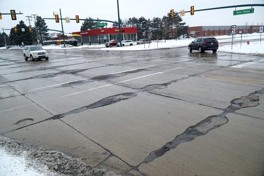 With its numerous patches and divots and potholes - the intersection of Novi Road and Twelve in the city of Novi has been known for years for its very bumpy ride. The city is looking towards a more permanent repair of the two-lanes-in-each-direction intersection.