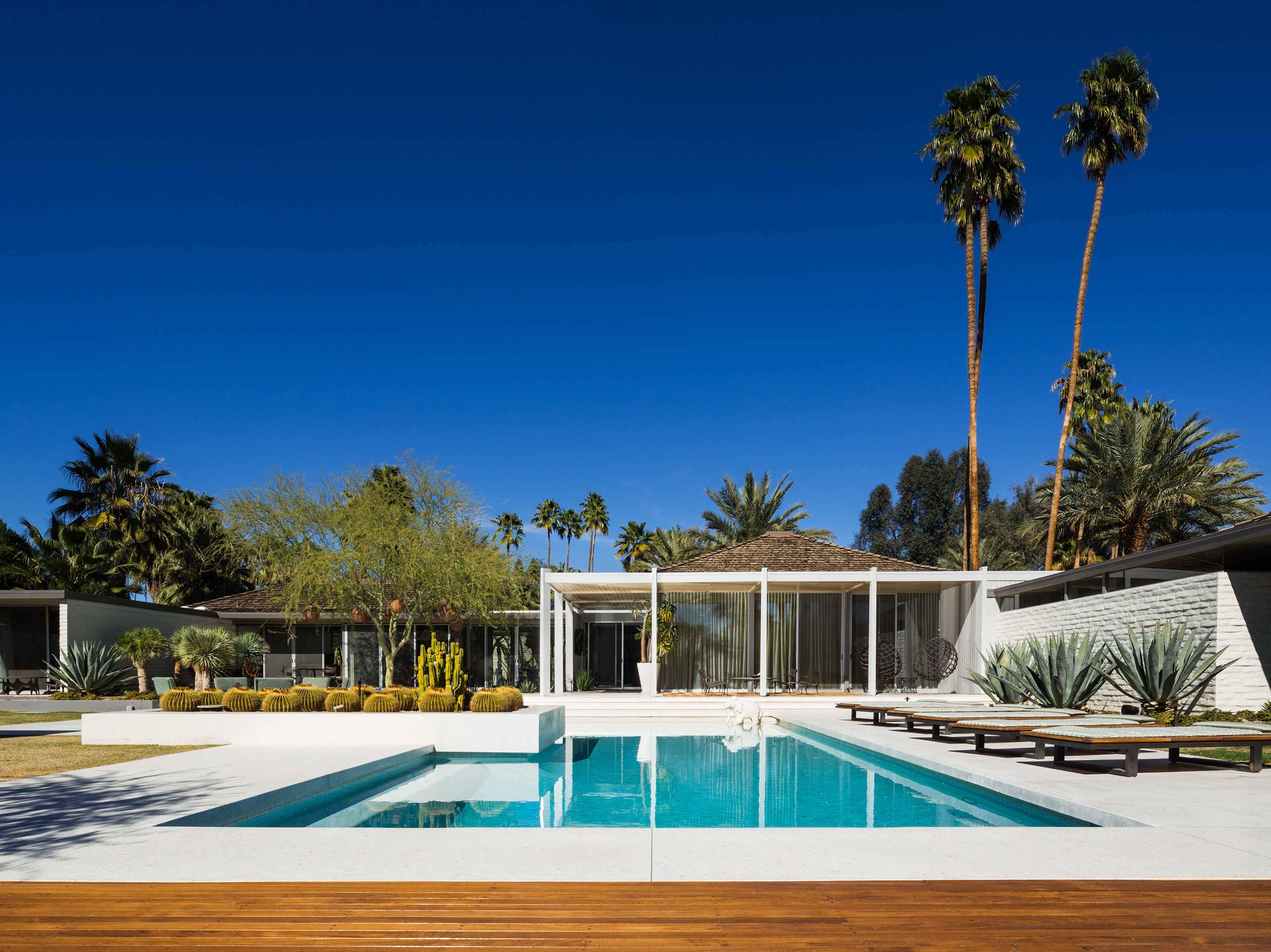 The Abernathy House by William F. Cody in Palm Springs