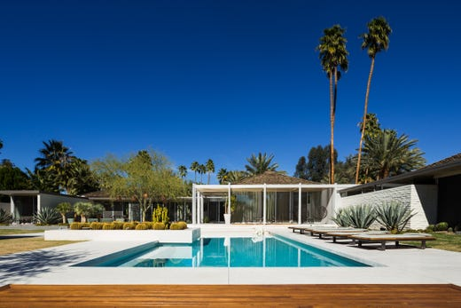 Modernism Week: 5 mid-century modern homes for sale in Palm