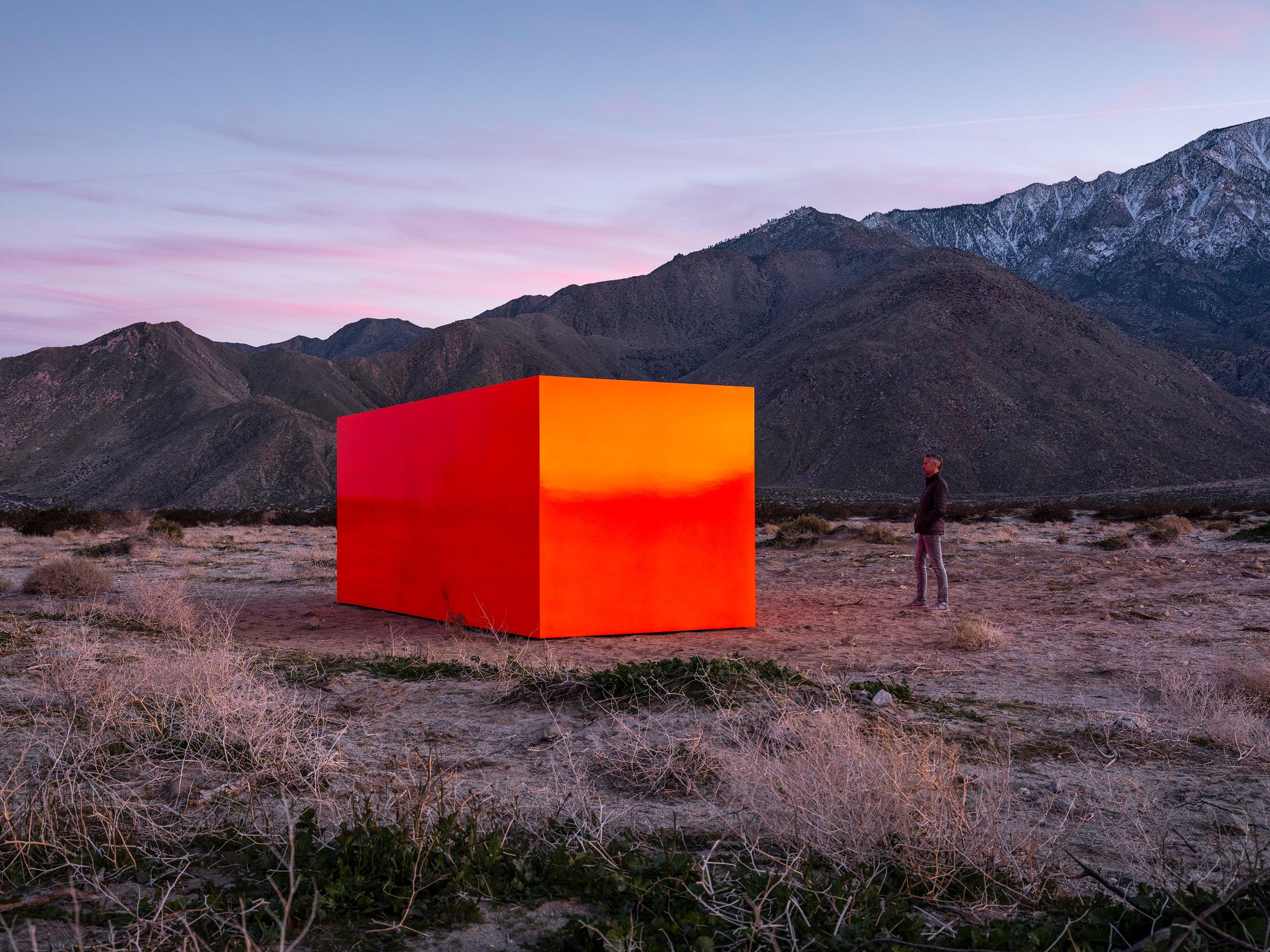 """""""Specter"""" by Sterling Ruby for Desert X 2019"""