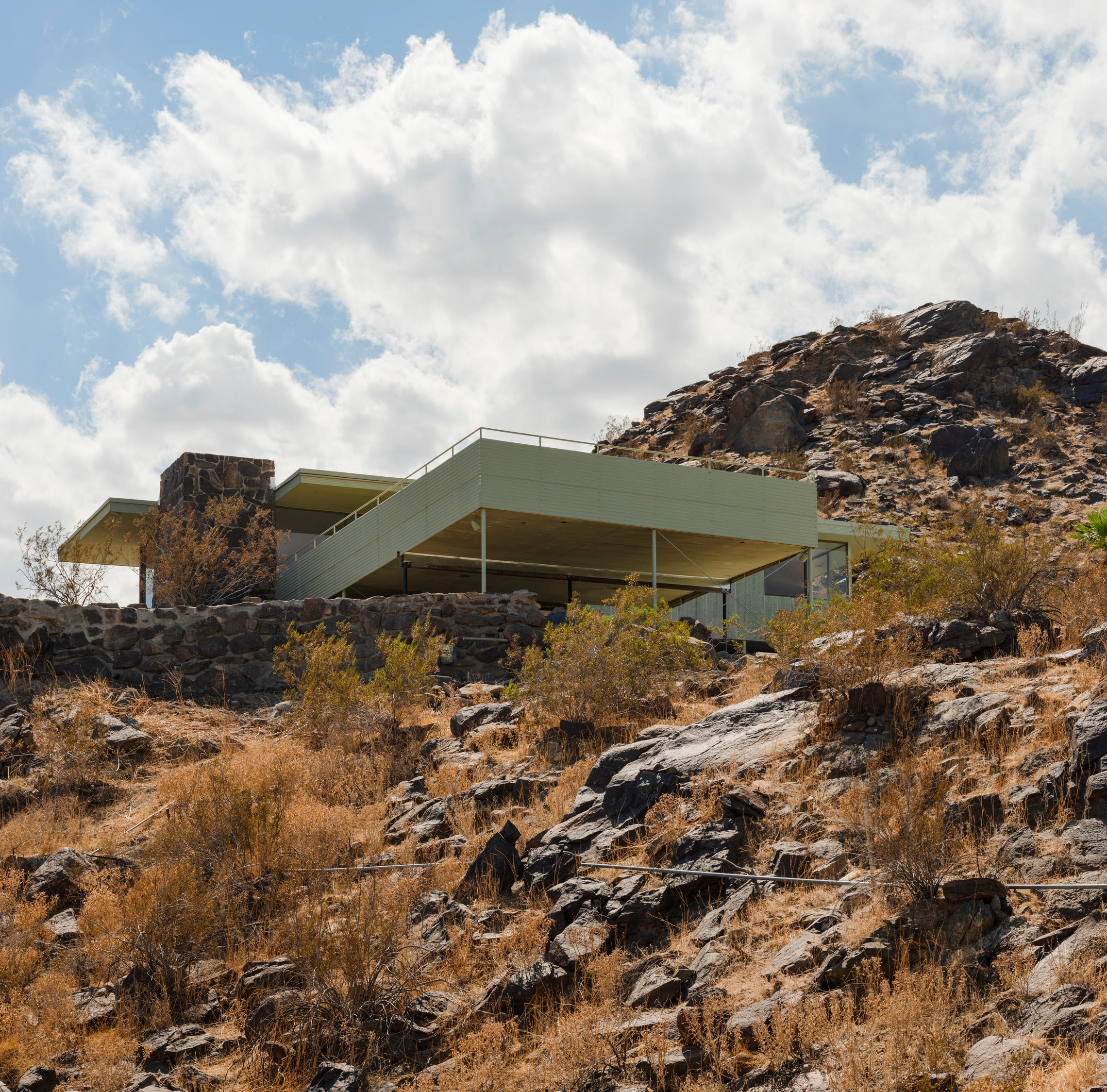 If you didn't get a peek at this Albert Frey home during Modernism Week, it's now on the market for $2.5 million