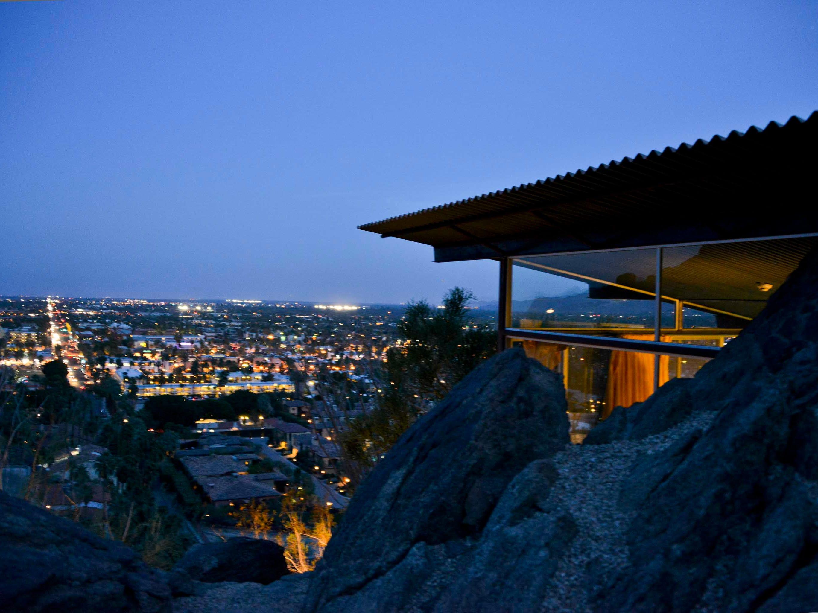 Frey House II by Albert Frey in Palm Springs