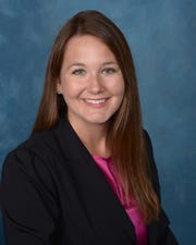 Jessica Etherton, president of the Young Lawyers Division of the Escambia-Santa Rosa Bar Association.