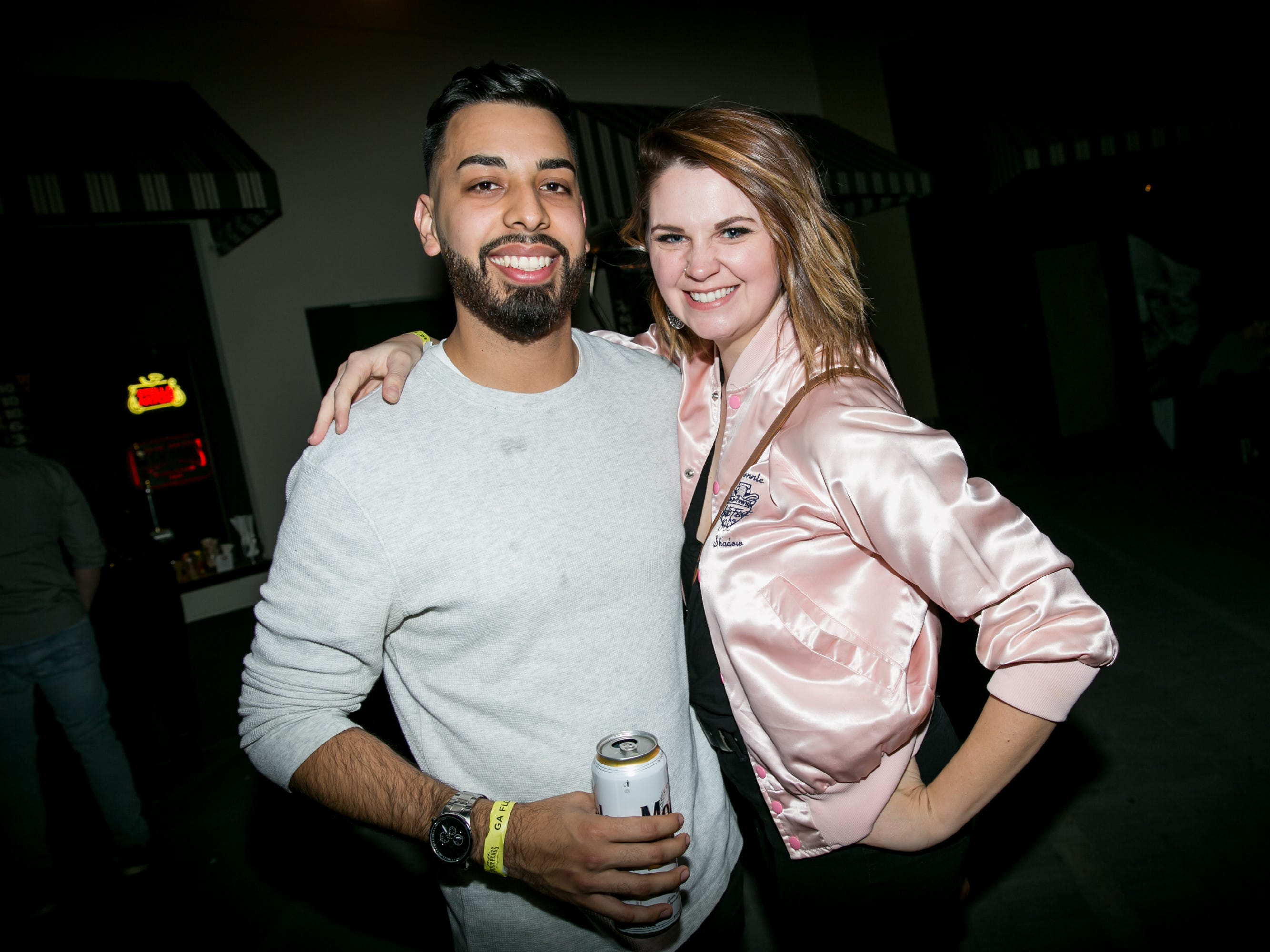 It was their world, just these two during Drake Night: Fake Real Love at the Van Buren on Feb. 9, 2019.