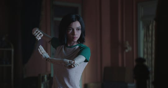 "Rosa Salazar plays the title character in ""Alita: Battle Angel."""