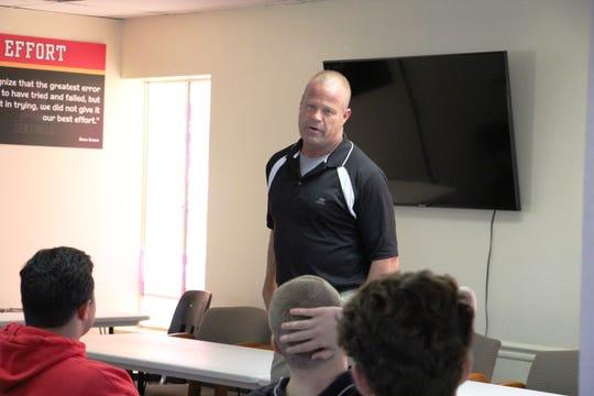 Pete Wahlheim has been named the head football coach at Seton Catholic.