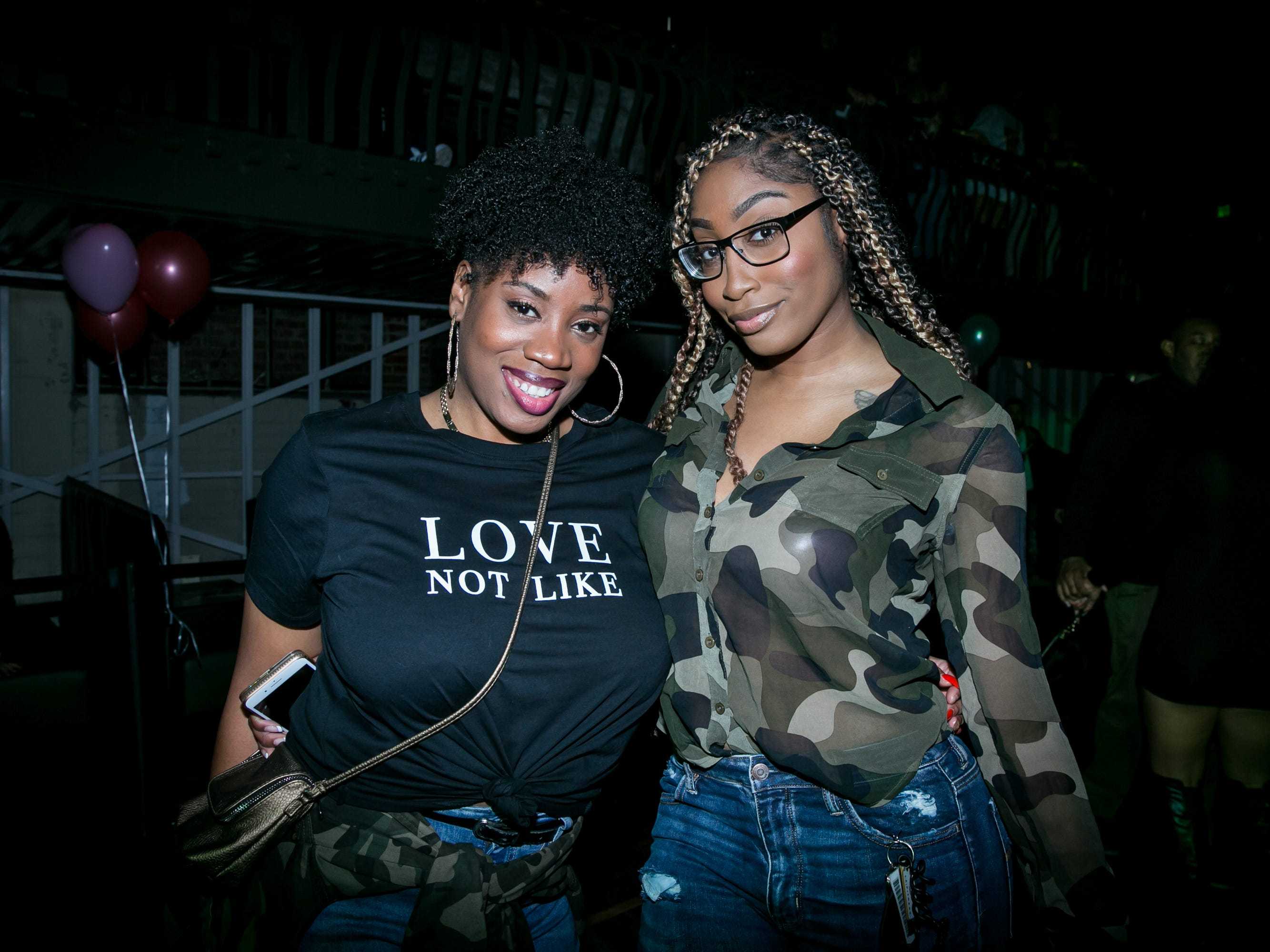 None of the love was fake during Drake Night: Fake Real Love at the Van Buren on Feb. 9, 2019.