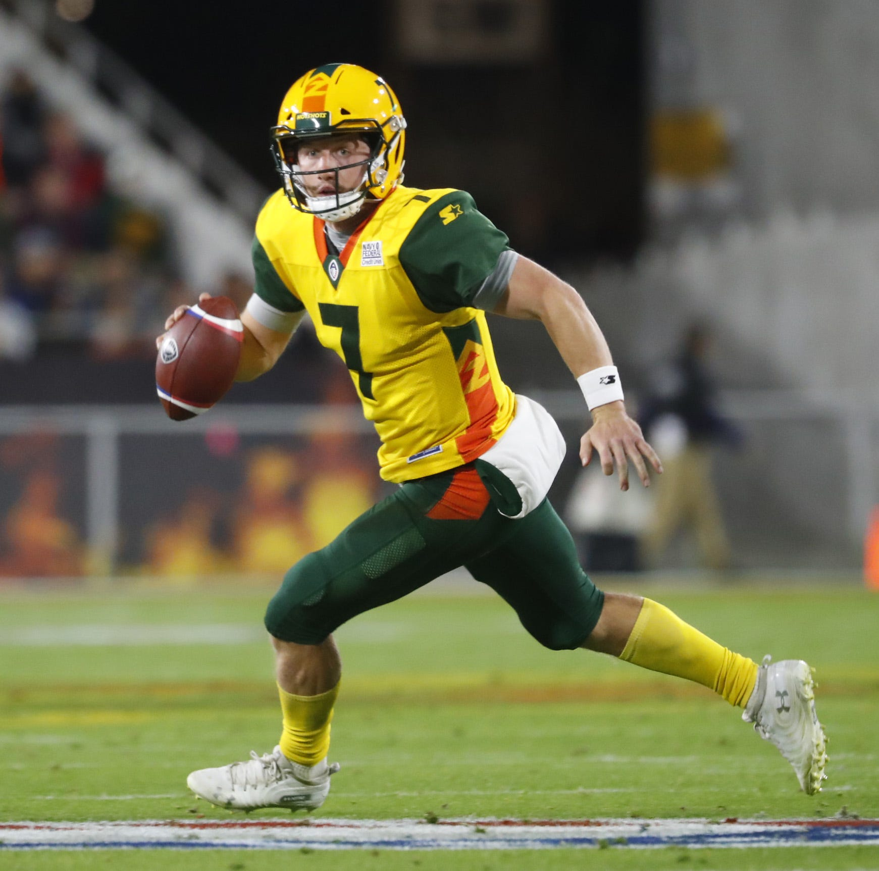 Who is John Wolford? Ex-Wake Forest quarterback takes AAF by storm with Arizona Hotshots