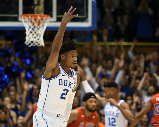 Duke Blue Devils forward Cam Reddish has been linked to the Phoenix Suns in some NBA mock drafts.