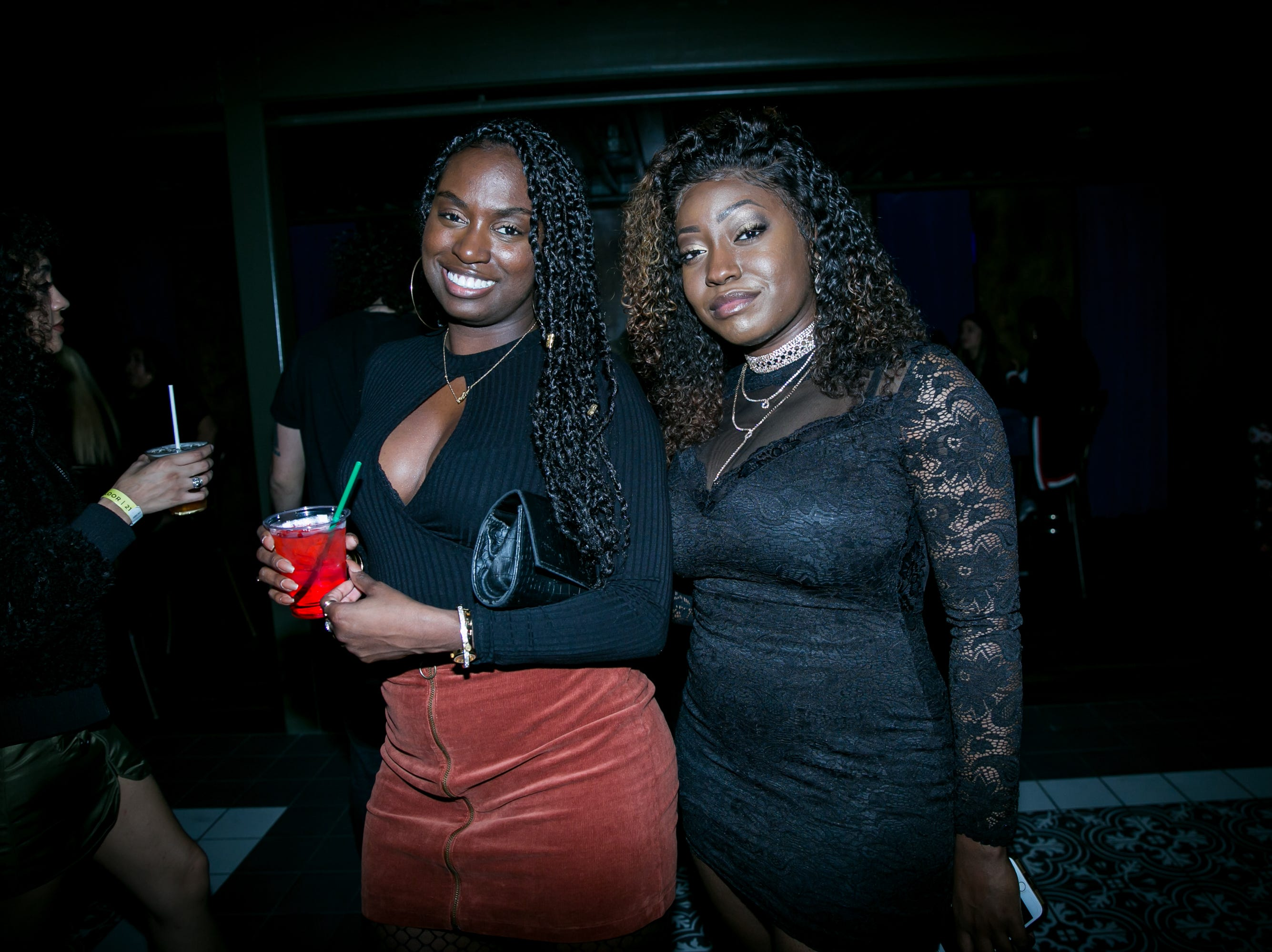 They were glammed up during Drake Night: Fake Real Love at the Van Buren on Feb. 9, 2019.