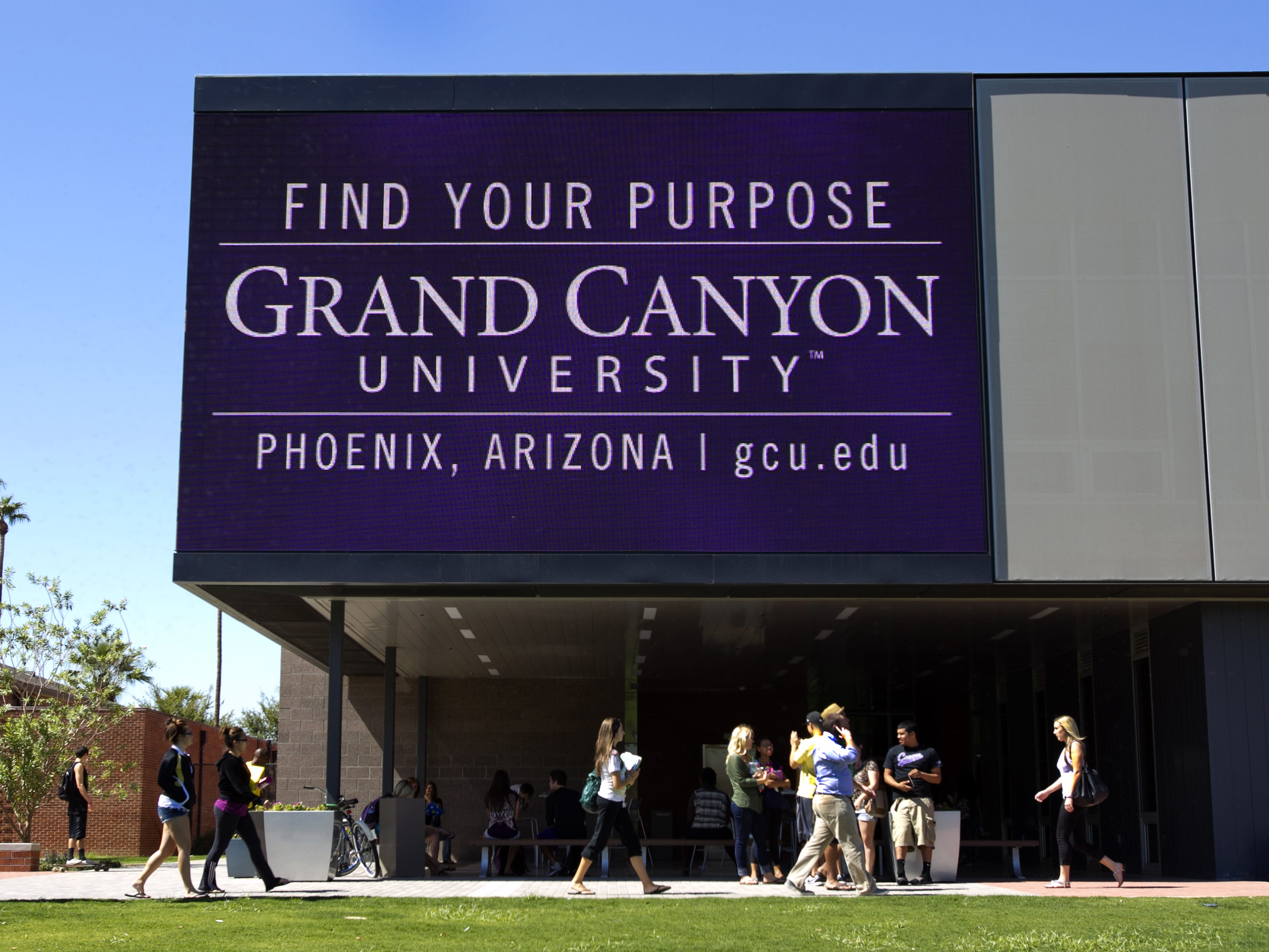 Grand Canyon is a large, private Christian university in Phoenix.