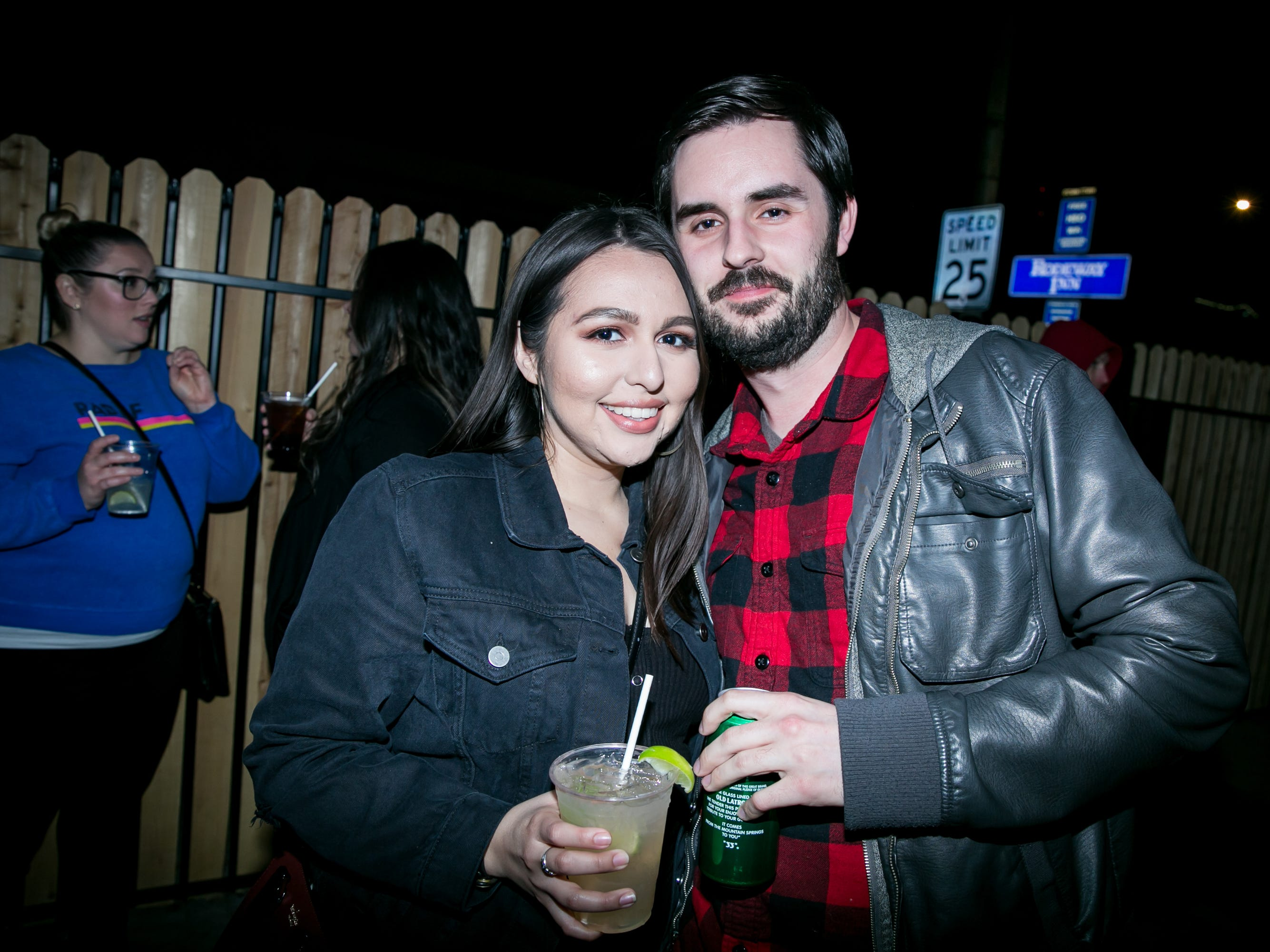 They shared love and emotion endlessly during Drake Night: Fake Real Love at the Van Buren on Feb. 9, 2019.