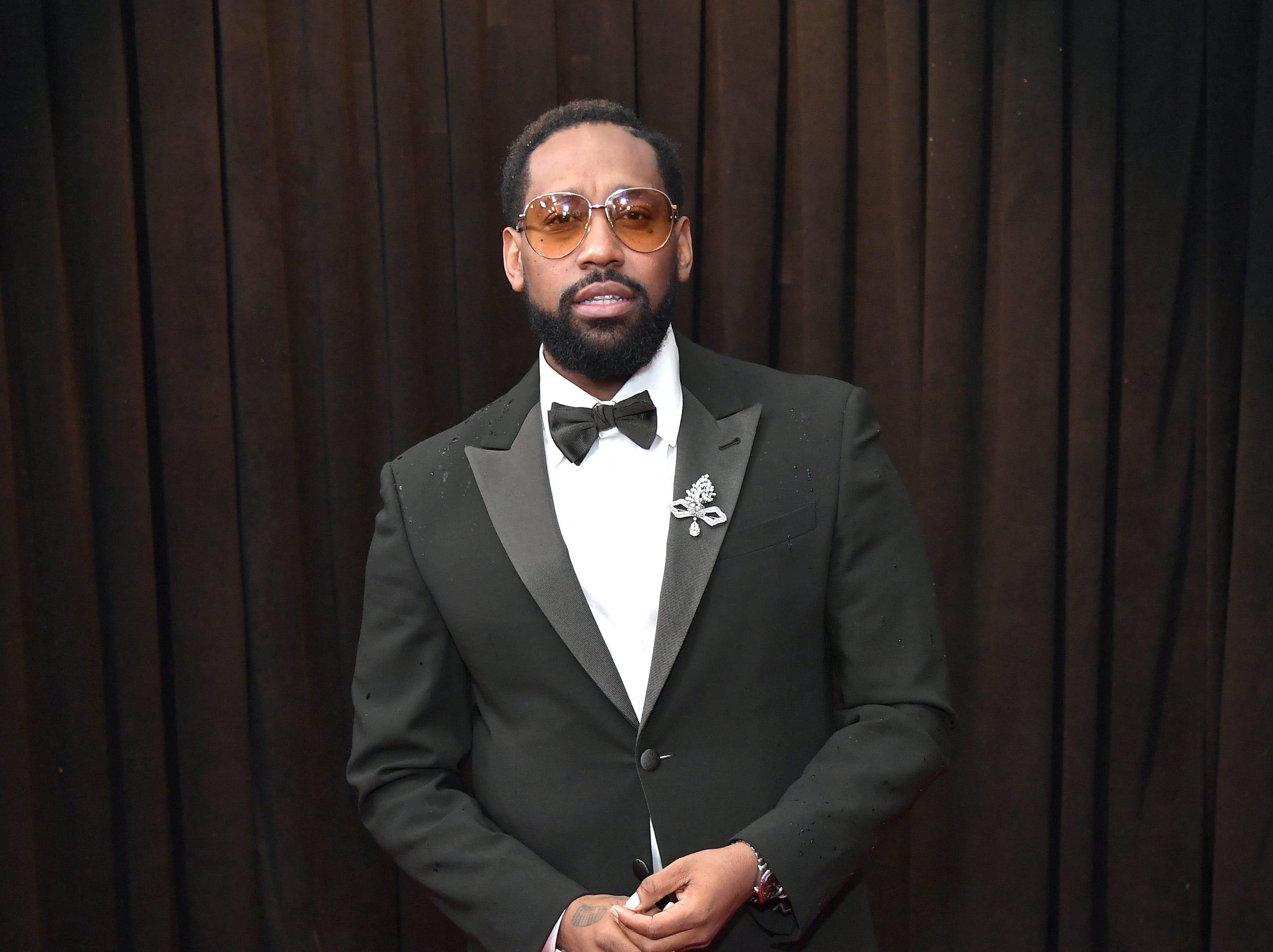 PJ Morton asiste a la 61ª edición de los premios GRAMMY en el Staples Center el 10 de febrero de 2019 en Los Ángeles, California.