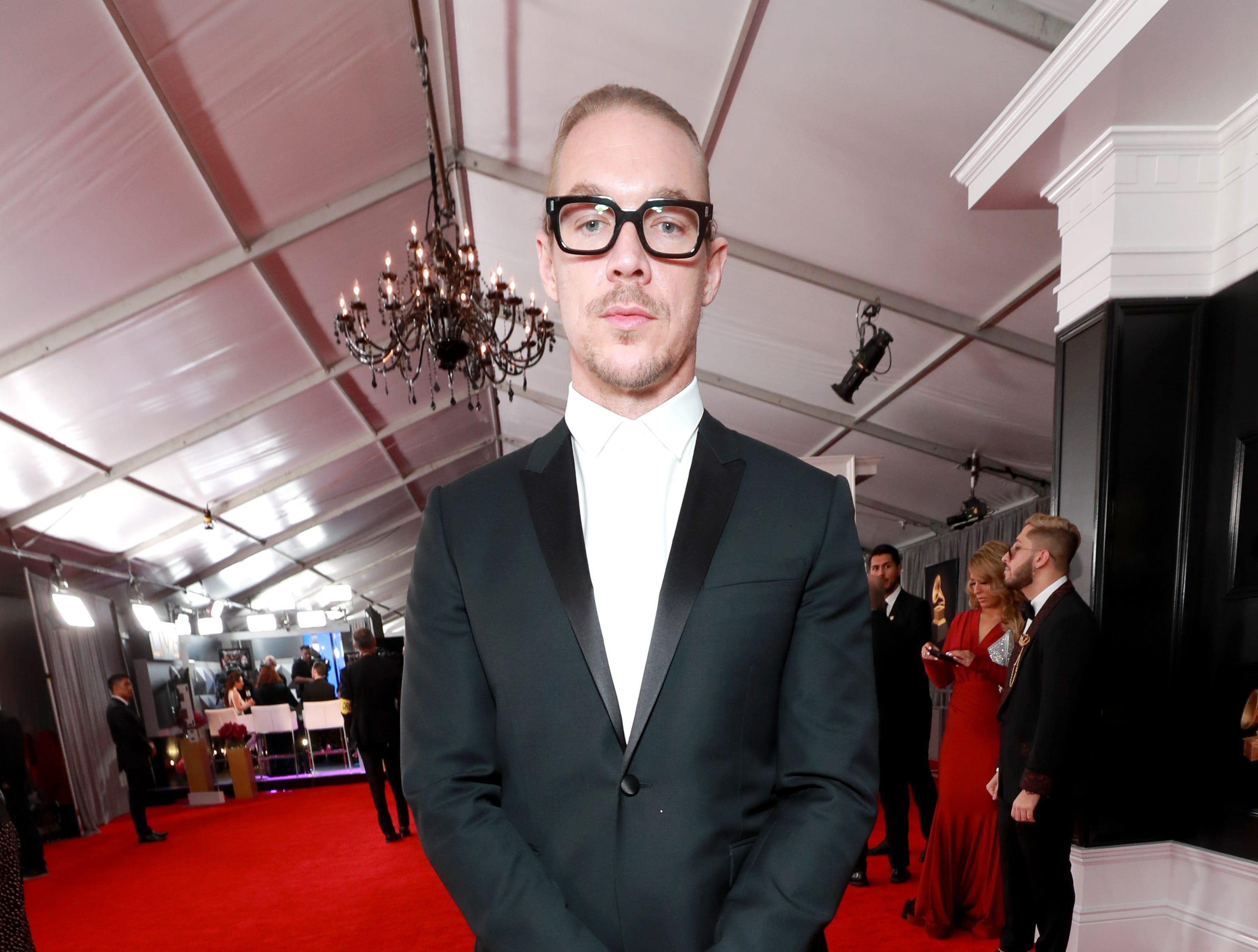 Diplo asiste a la 61ª edición de los premios GRAMMY en el Staples Center el 10 de febrero de 2019 en Los Ángeles, California.