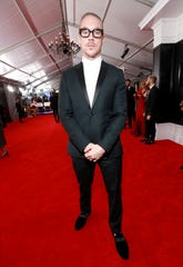 Diplo appearing at the recent Grammy Awards in Los Angeles.