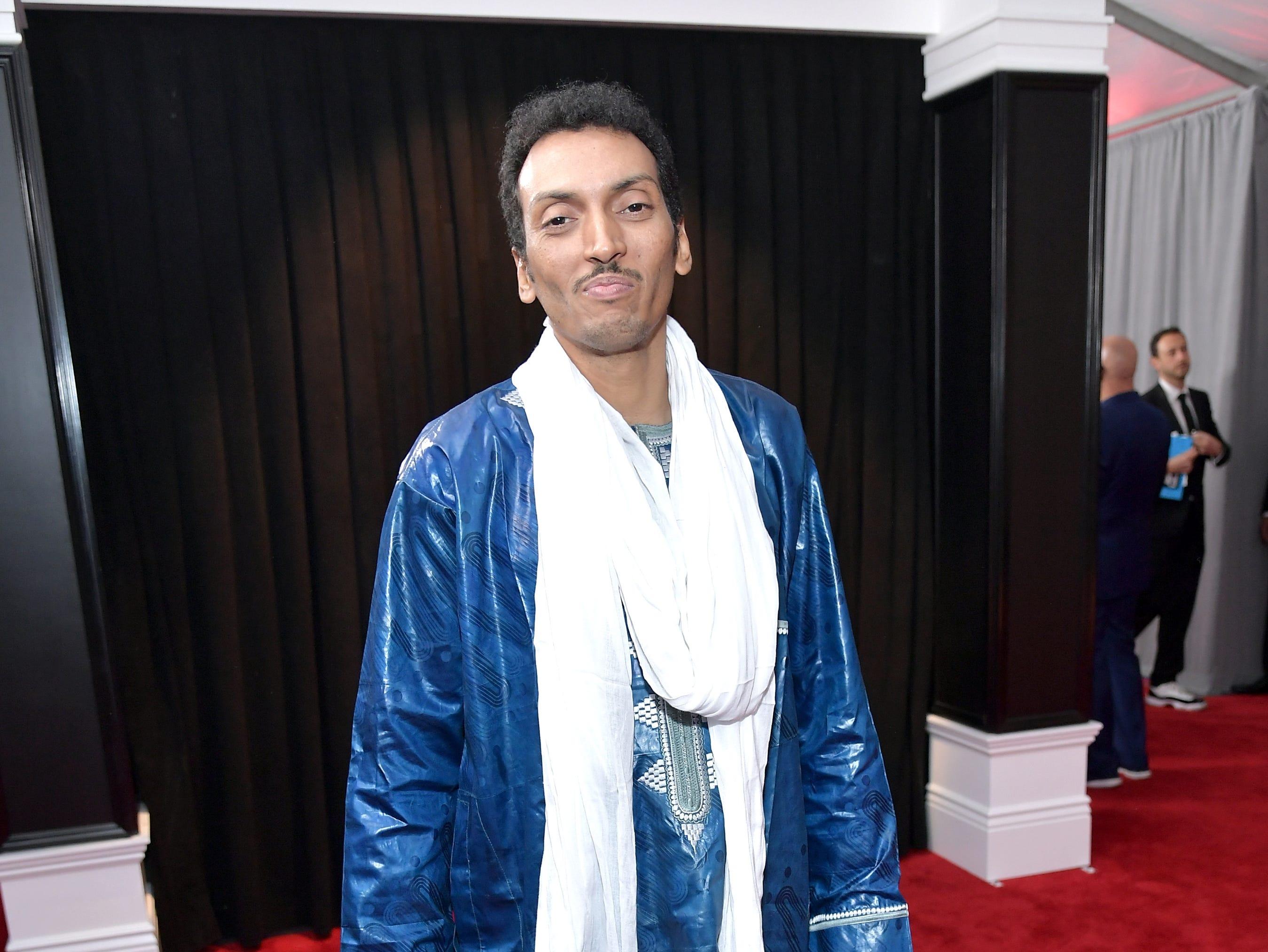 Bombino asiste a la 61ª edición de los premios GRAMMY en el Staples Center el 10 de febrero de 2019 en Los Ángeles, California.
