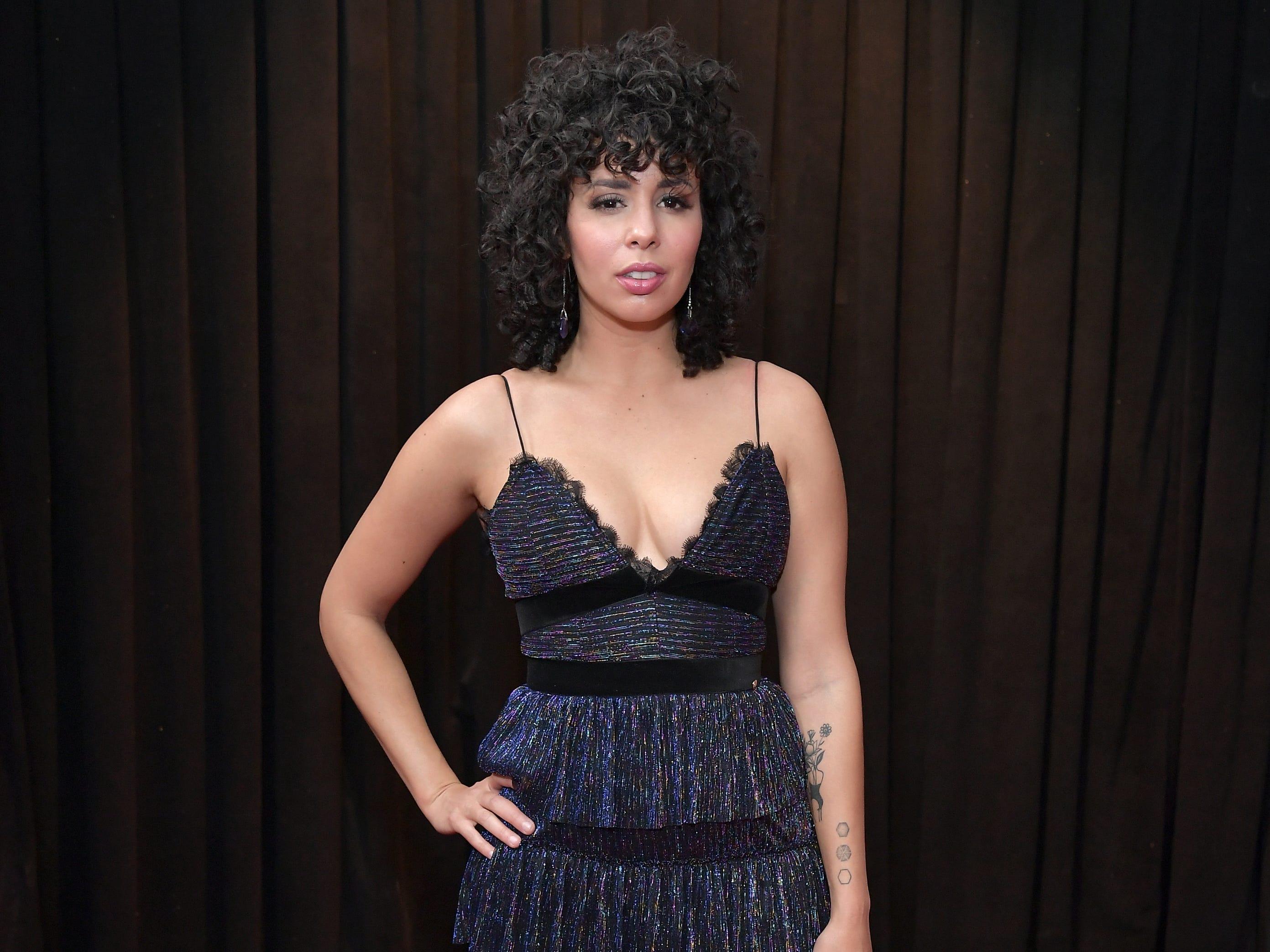 Raquel Sofía asiste a la 61ª edición de los premios GRAMMY en el Staples Center el 10 de febrero de 2019 en Los Ángeles, California.