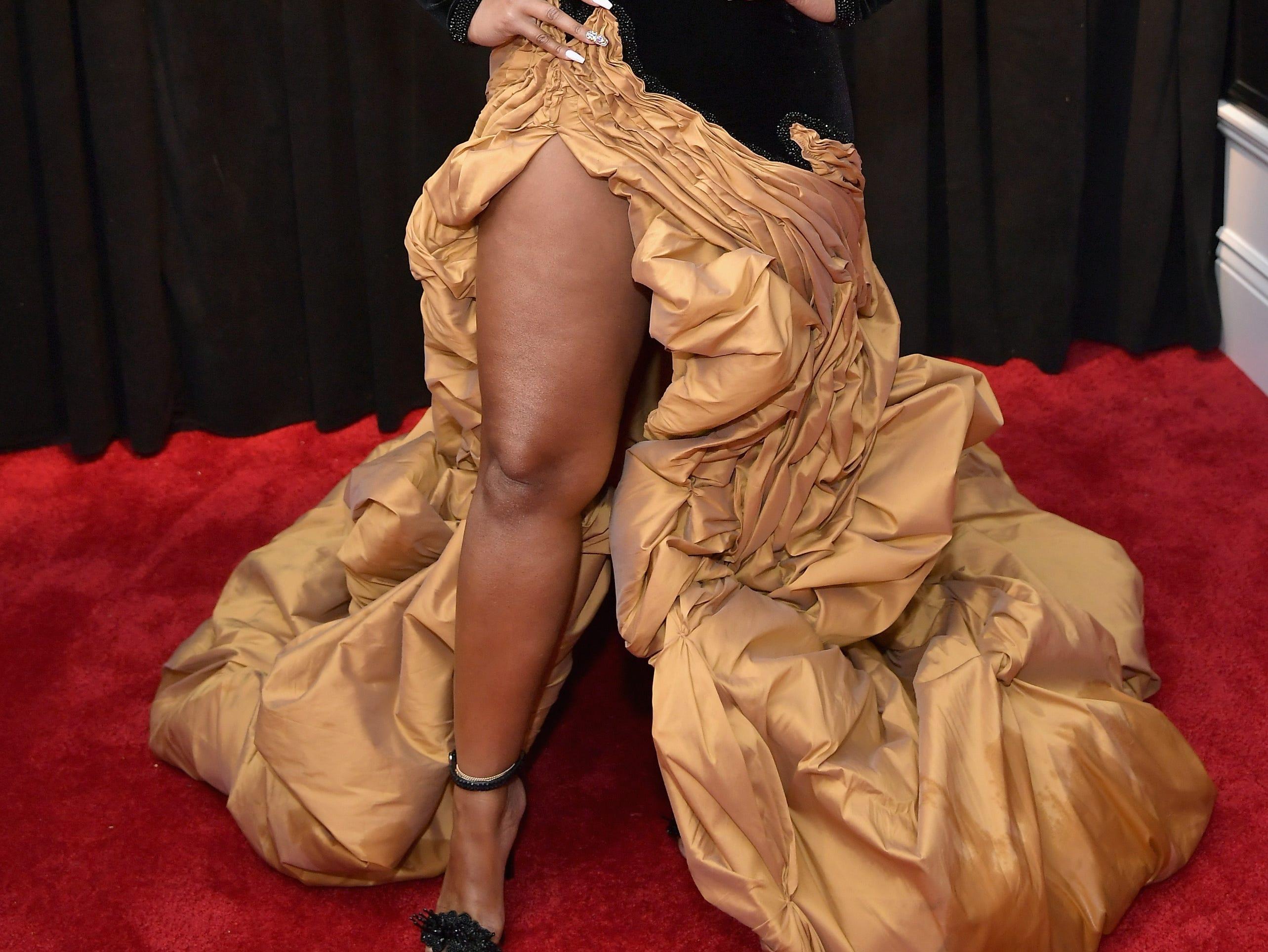 Ashanti  asiste a la 61ª edición de los premios GRAMMY en el Staples Center el 10 de febrero de 2019 en Los Ángeles, California.