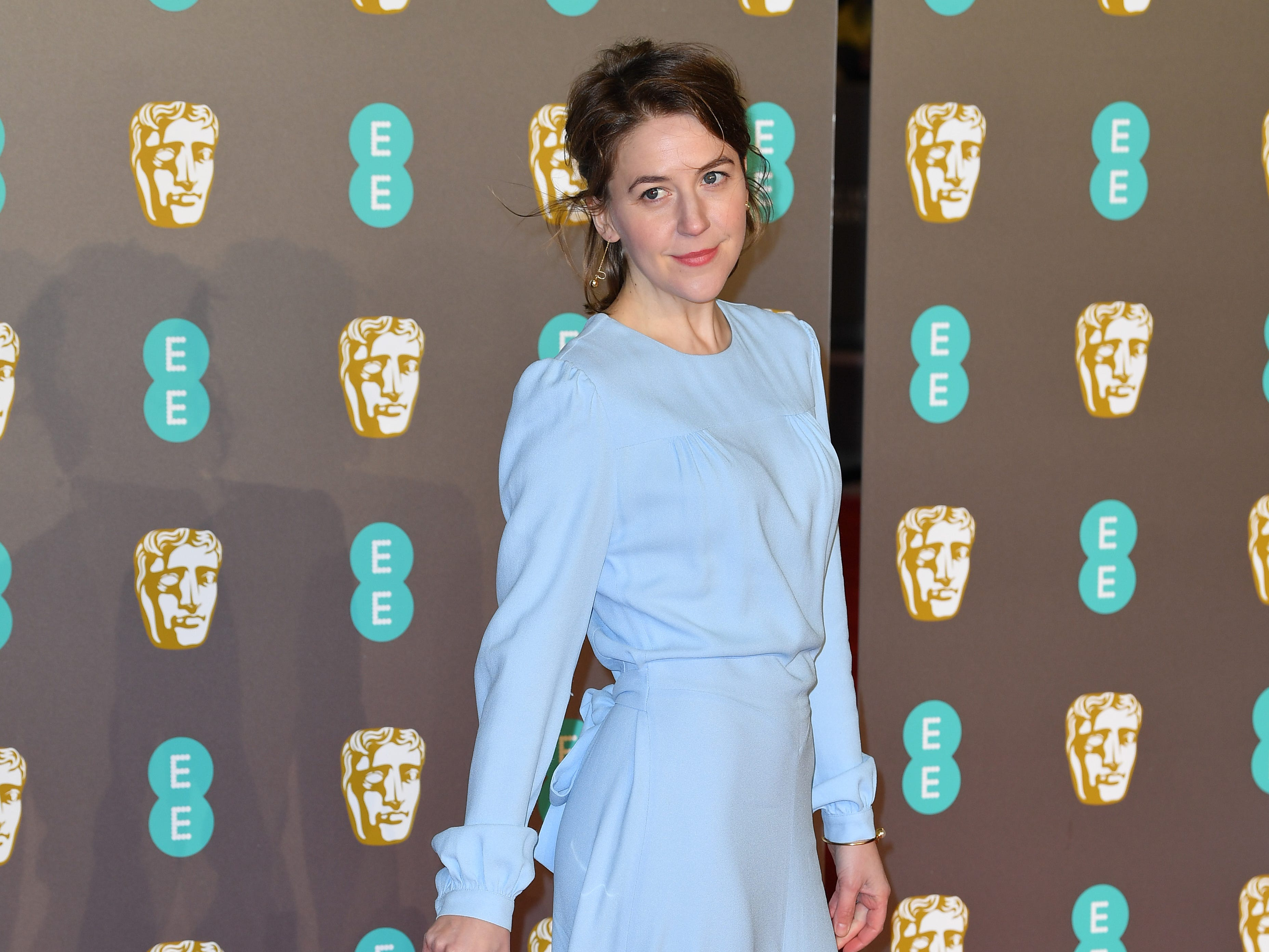 Gemma Whelan a su llegada a la alfombra roja de los Premios de la Academia Británica de Cine BAFTA en el Royal Albert Hall en Londres el 10 de febrero de 2019.