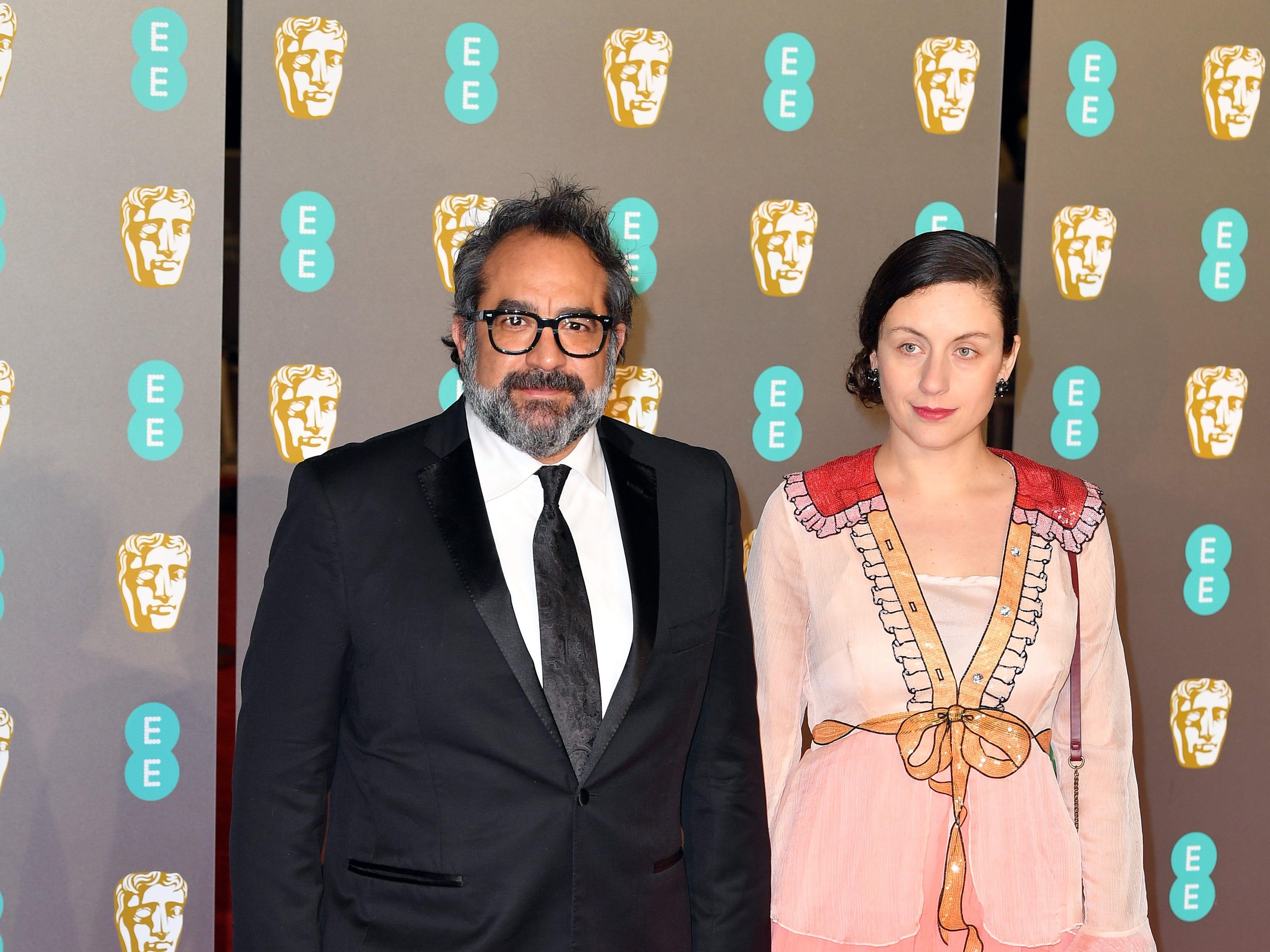 Eugenio Caballero a su llegada a la alfombra roja de los Premios de la Academia Británica de Cine BAFTA en el Royal Albert Hall en Londres el 10 de febrero de 2019.