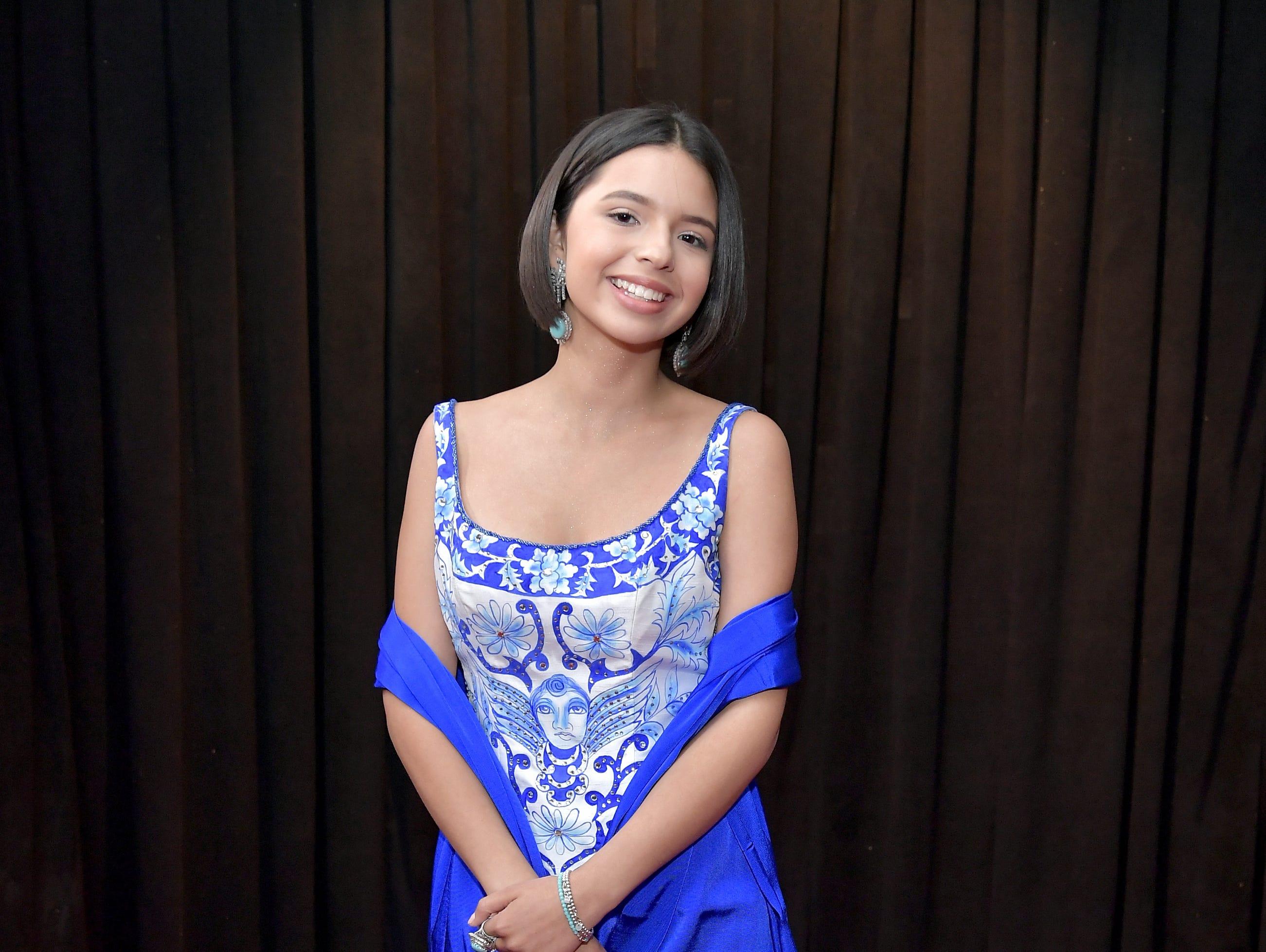 Ángela Aguilar asiste a la 61ª edición de los premios GRAMMY en el Staples Center el 10 de febrero de 2019 en Los Ángeles, California.