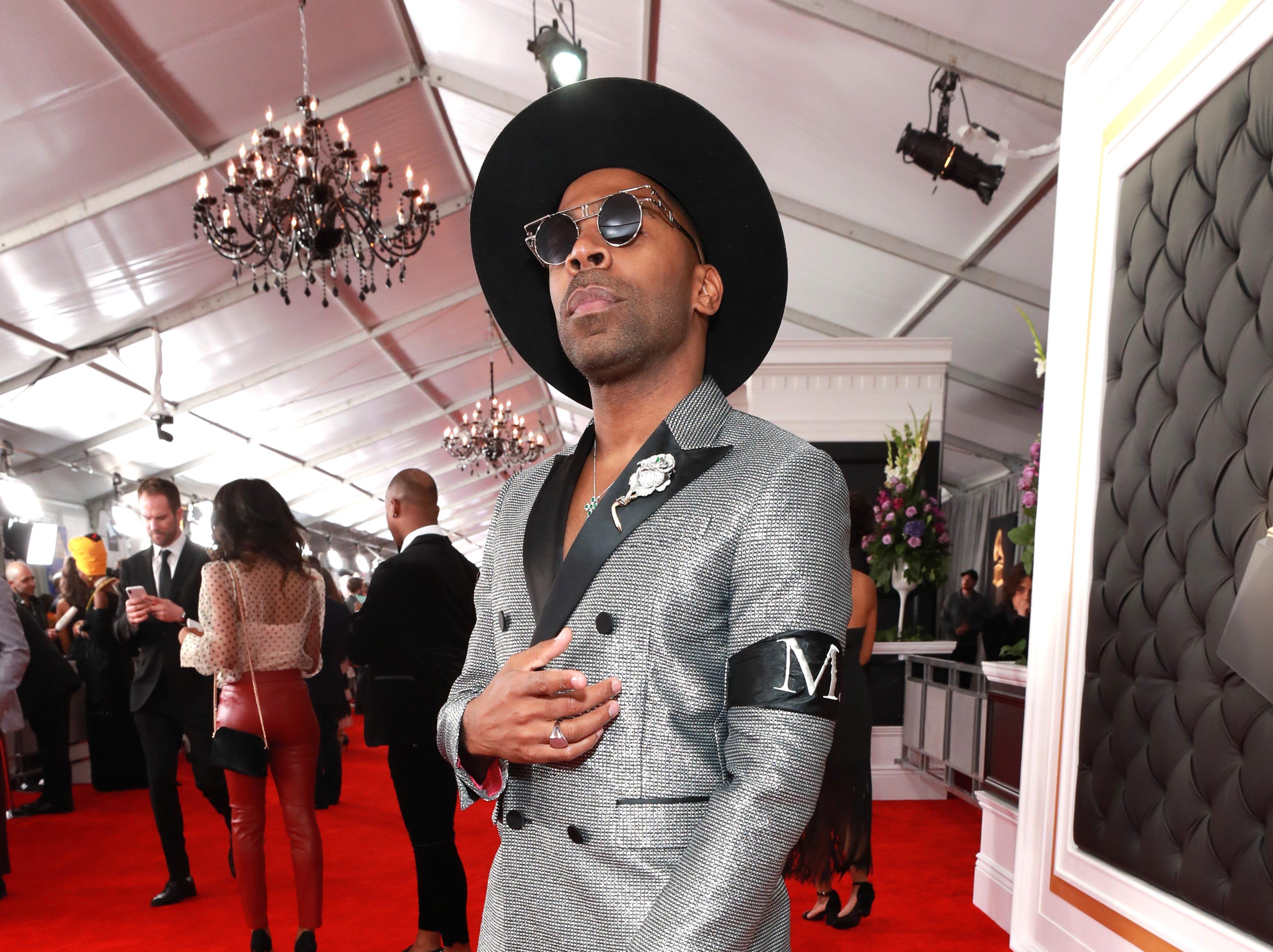 Major asiste a la 61ª edición de los premios GRAMMY en el Staples Center el 10 de febrero de 2019 en Los Ángeles, California.