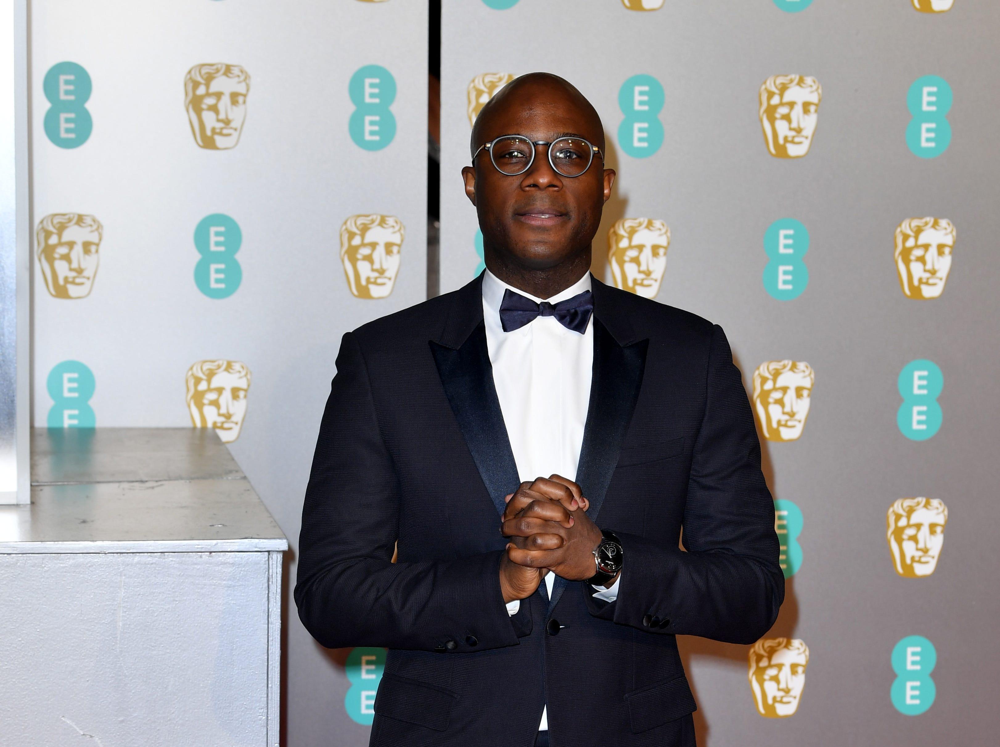 Barry Jenkins a su llegada a la alfombra roja de los Premios de la Academia Británica de Cine BAFTA en el Royal Albert Hall en Londres el 10 de febrero de 2019.