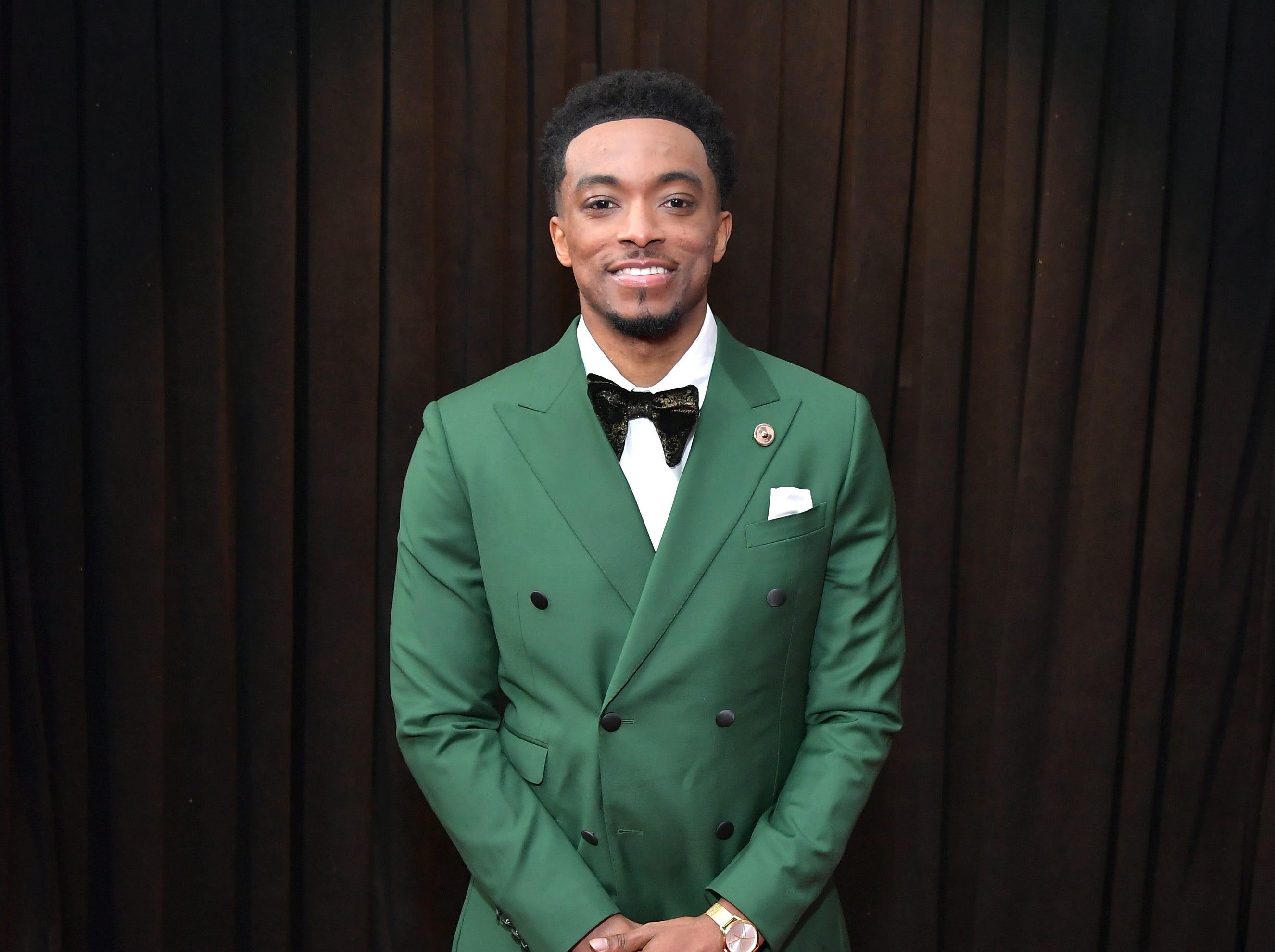 Jonathan McReynolds asiste a la 61ª edición de los premios GRAMMY en el Staples Center el 10 de febrero de 2019 en Los Ángeles, California.