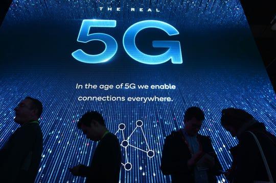 Exhibición de la red 5G en la Conferencia de Innovaciones Electrónica 2019.
