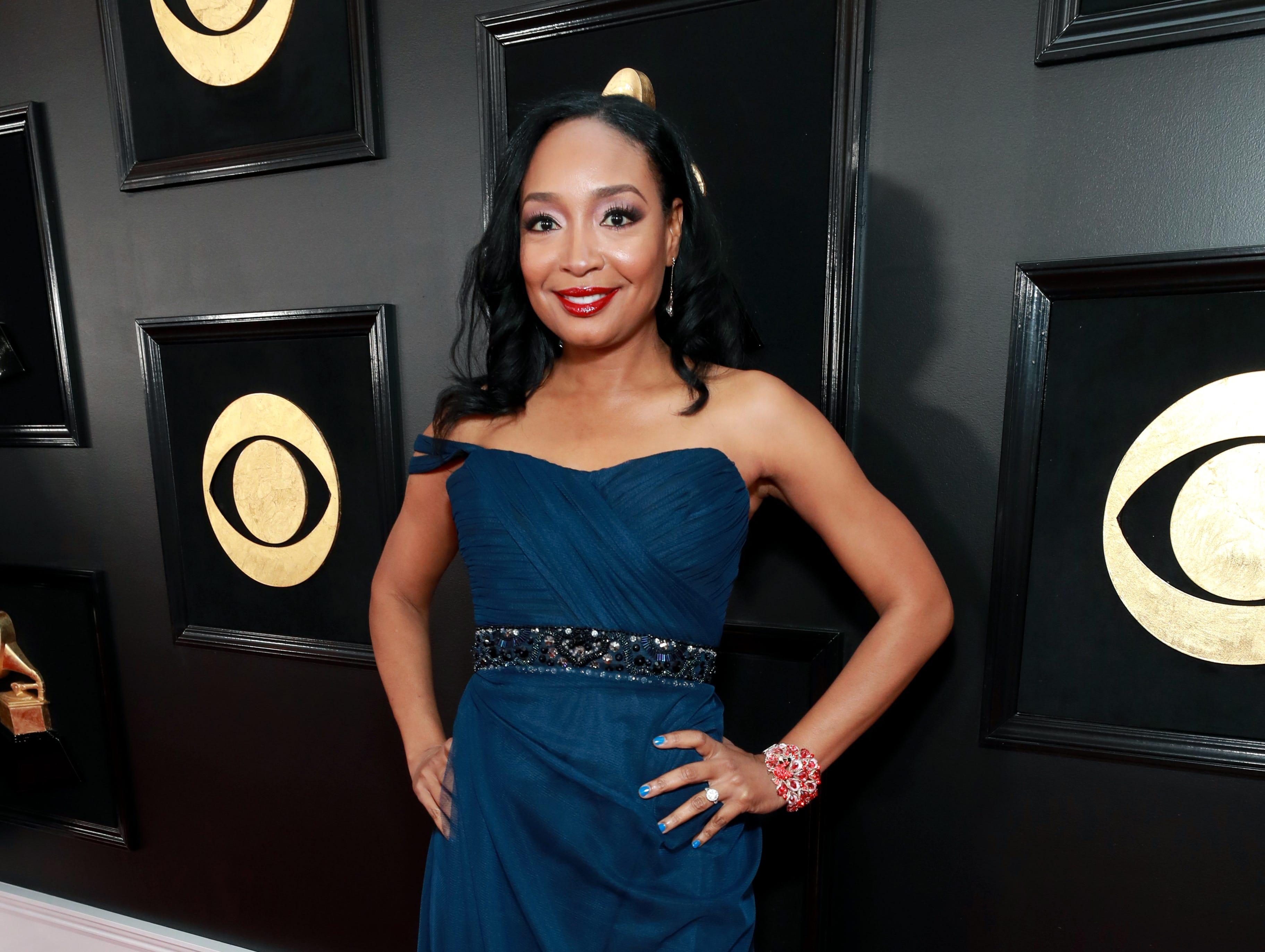 Malina Moye asiste a la 61ª edición de los premios GRAMMY en el Staples Center el 10 de febrero de 2019 en Los Ángeles, California.