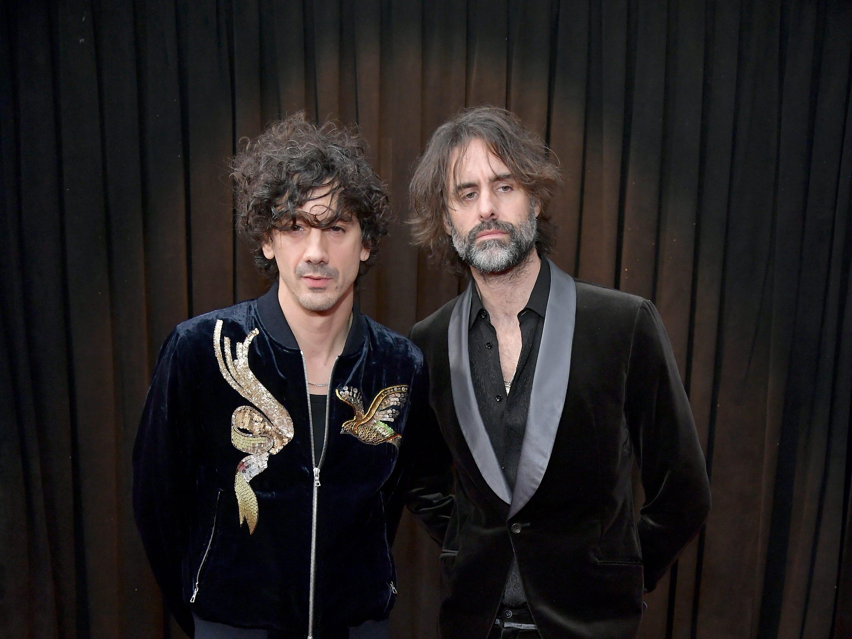 Andrew Wyatt y Anthony Rossomando asisten a la 61ª edición de los premios GRAMMY en el Staples Center el 10 de febrero de 2019 en Los Ángeles, California.