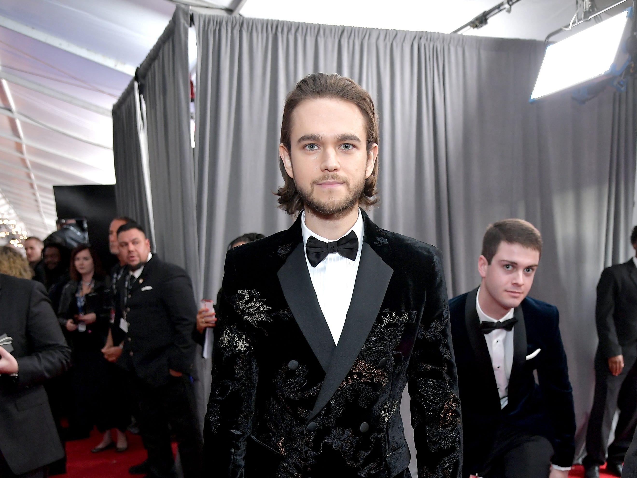 Zedd  asiste a la 61ª edición de los premios GRAMMY en el Staples Center el 10 de febrero de 2019 en Los Ángeles, California.